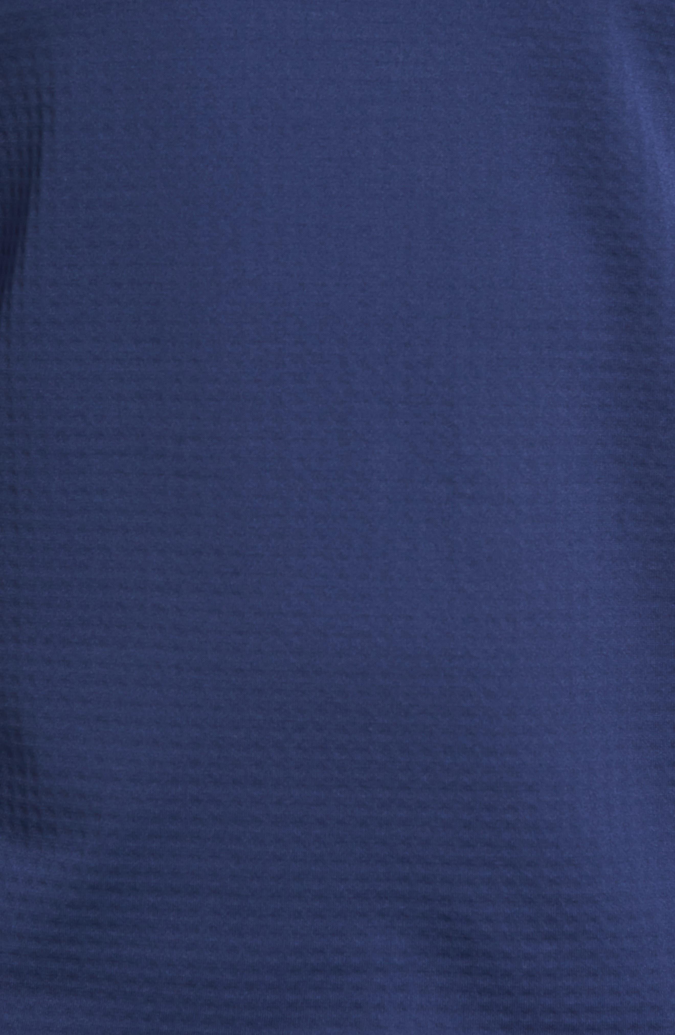 ThermaSphere Long Sleeve Running T-Shirt,                             Alternate thumbnail 9, color,                             Binary Blue/ Purple/ Heather