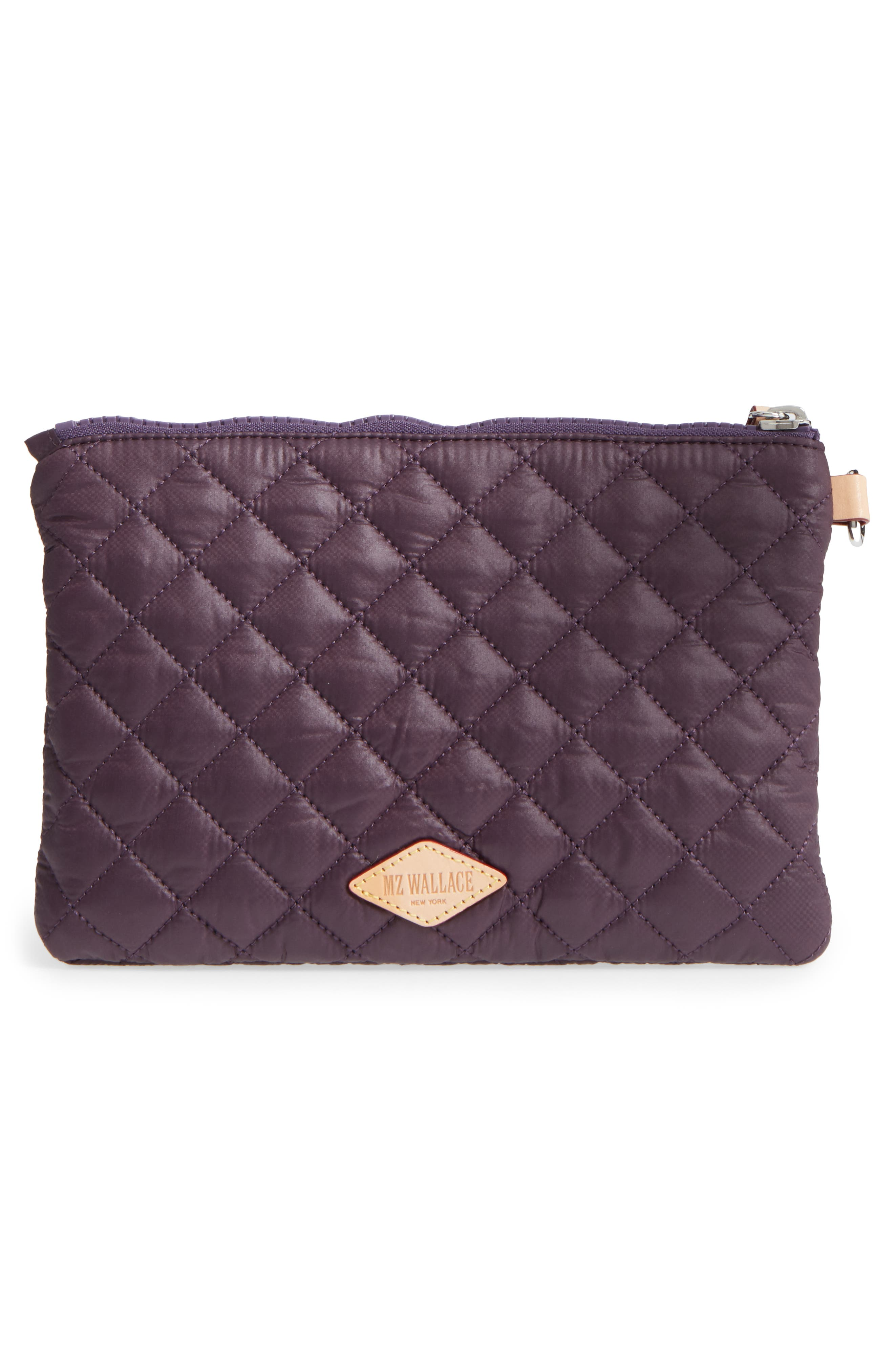 Alternate Image 3  - MZ Wallace Small Metro Quilted Oxford Nylon Zip Pouch