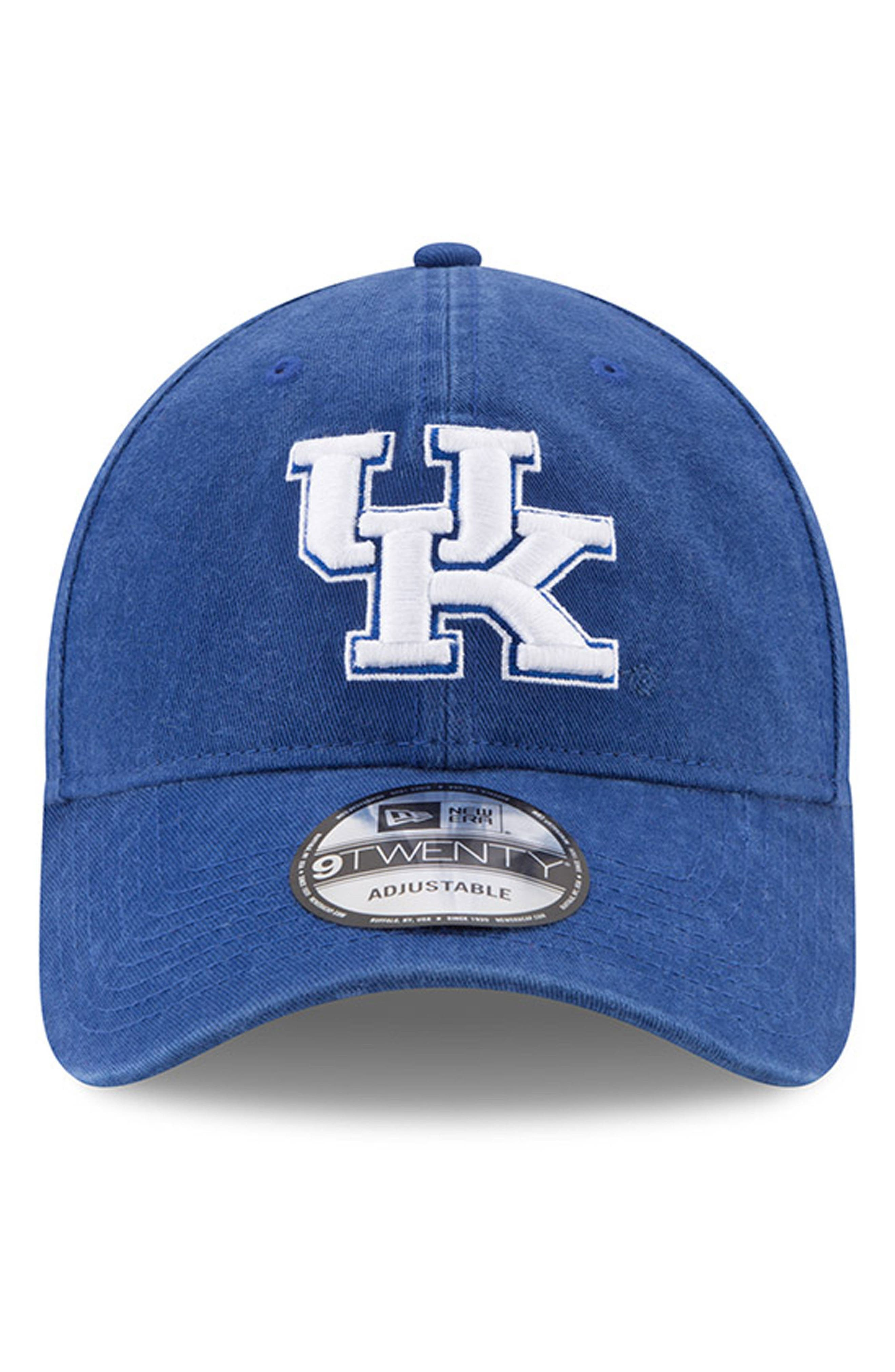 New Era Collegiate Core Classic - Kentucky Wildcats Baseball Cap,                             Alternate thumbnail 5, color,                             Kentucky Wildcats