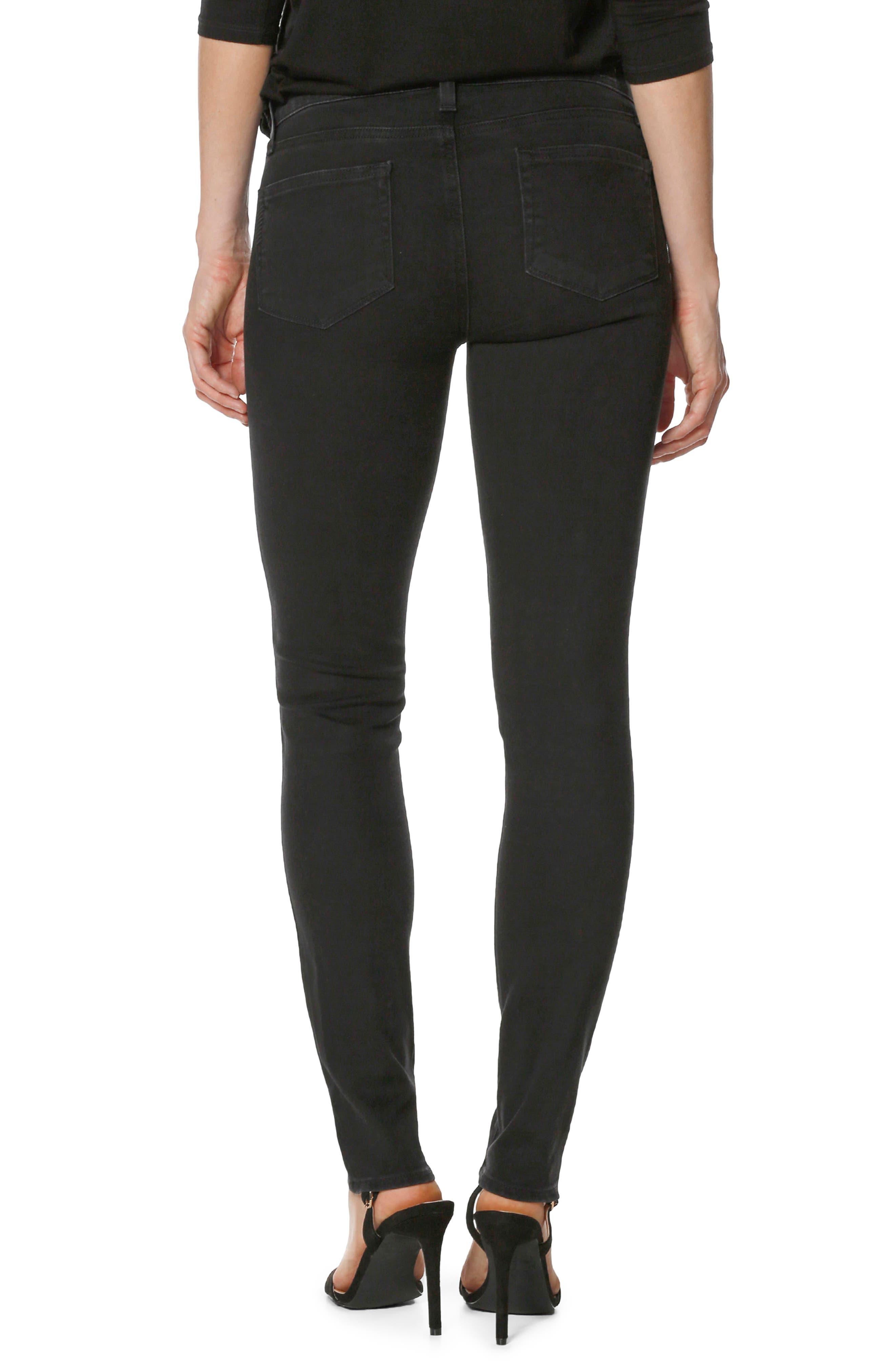 Verdugo Crystal Ultra Skinny Jeans,                             Alternate thumbnail 3, color,                             Noir Krystal