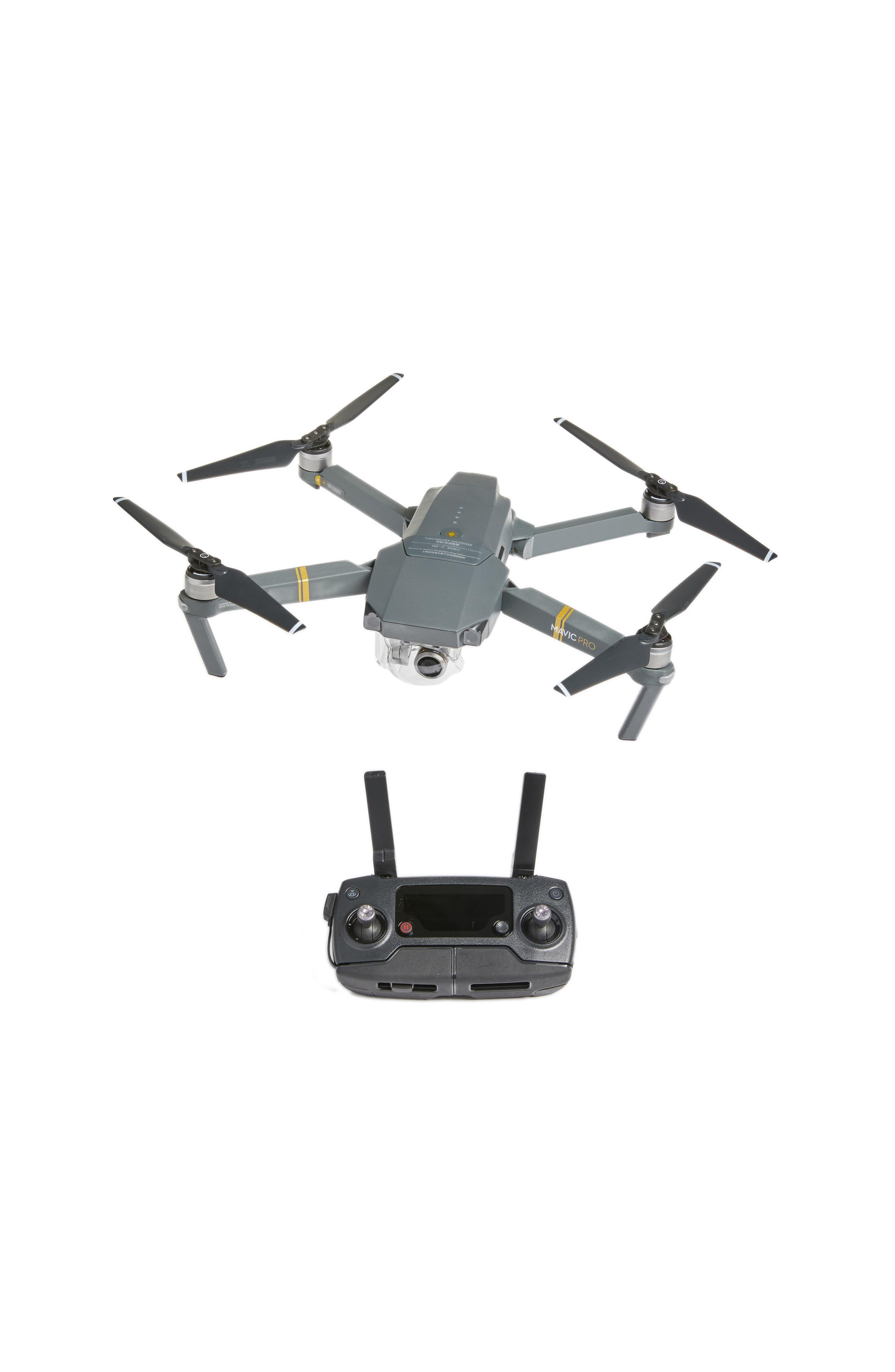 Mavic Pro Foldable Flying Quadcopter,                             Main thumbnail 1, color,                             Grey