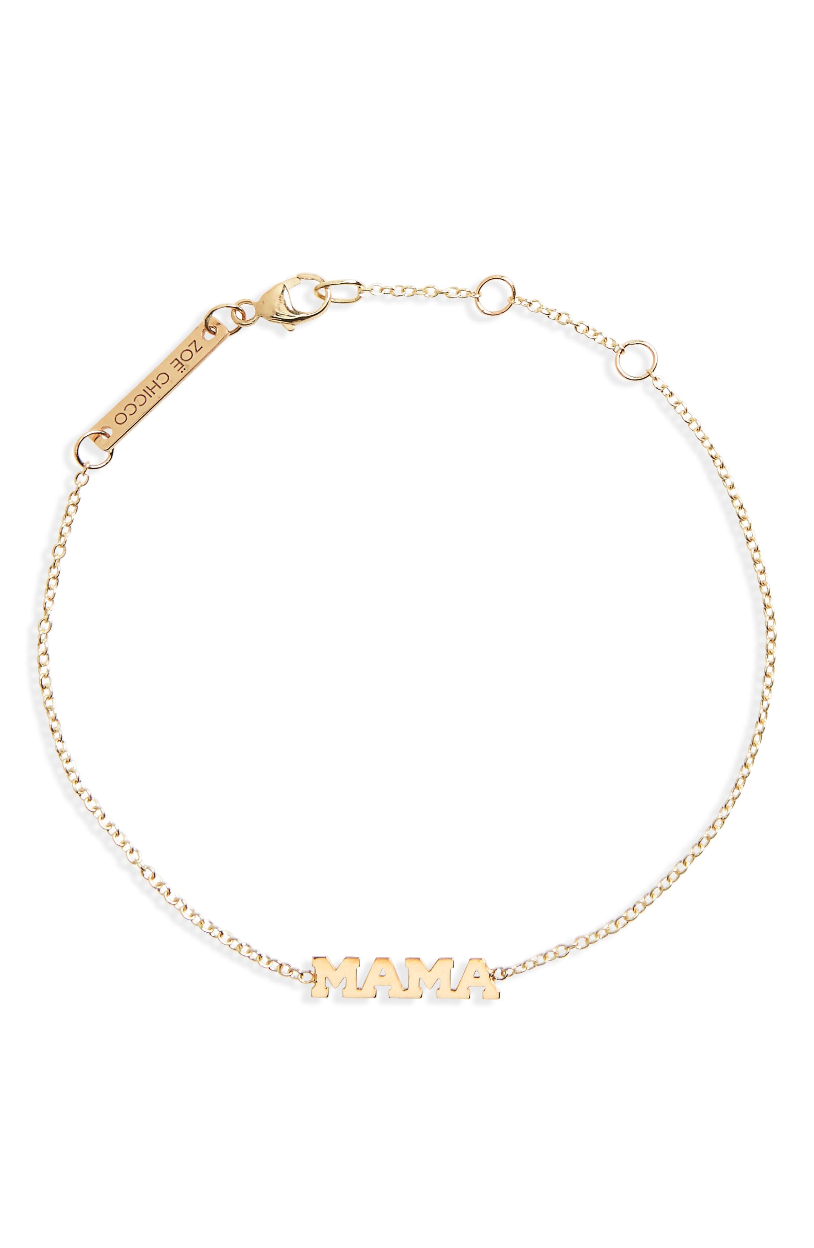 Alternate Image 1 Selected - Zoë Chicco Itty Bitty Mama Bracelet