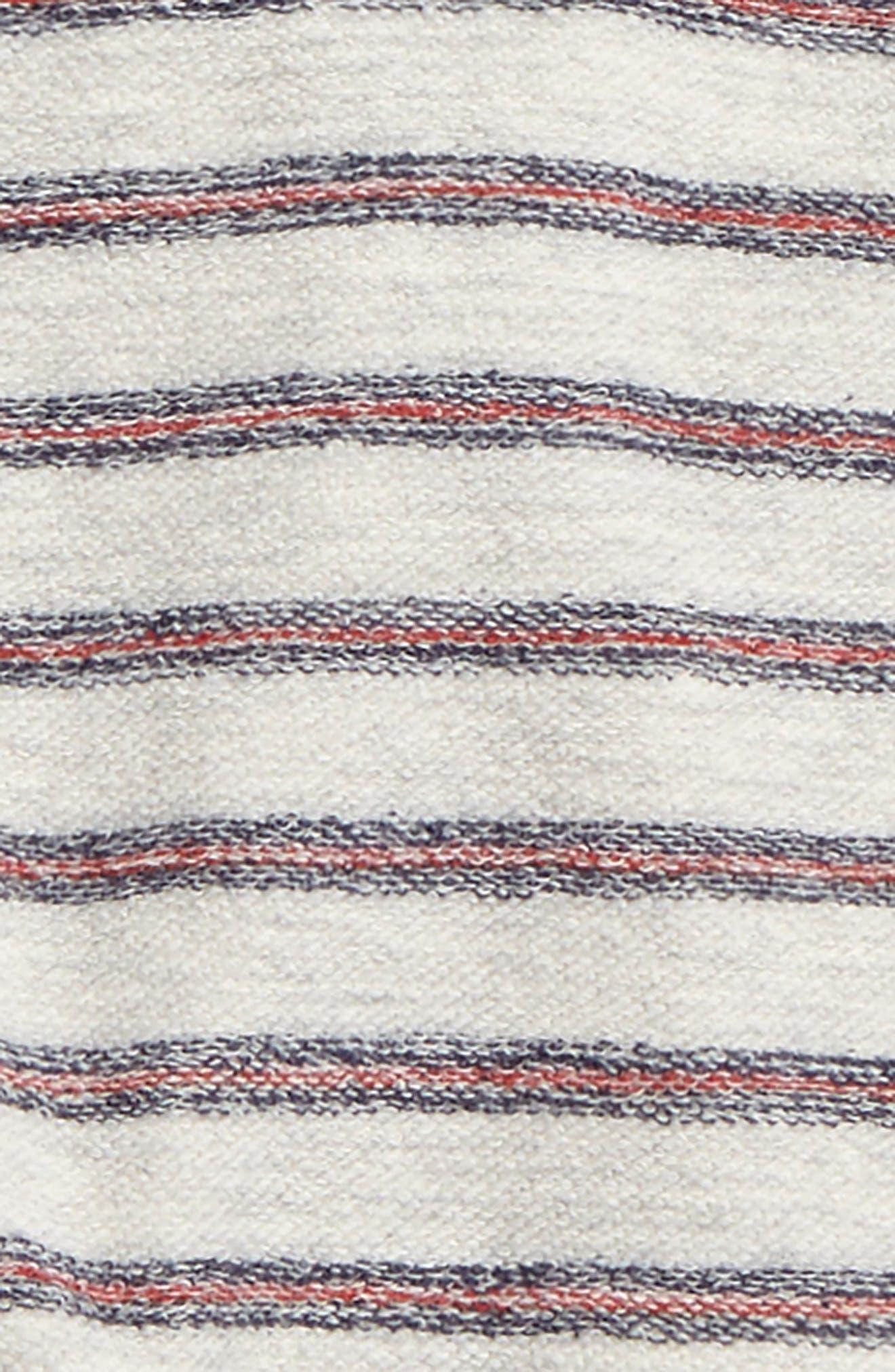 Peek Ziggy Stripe Sweatshirt,                             Alternate thumbnail 2, color,                             Cream