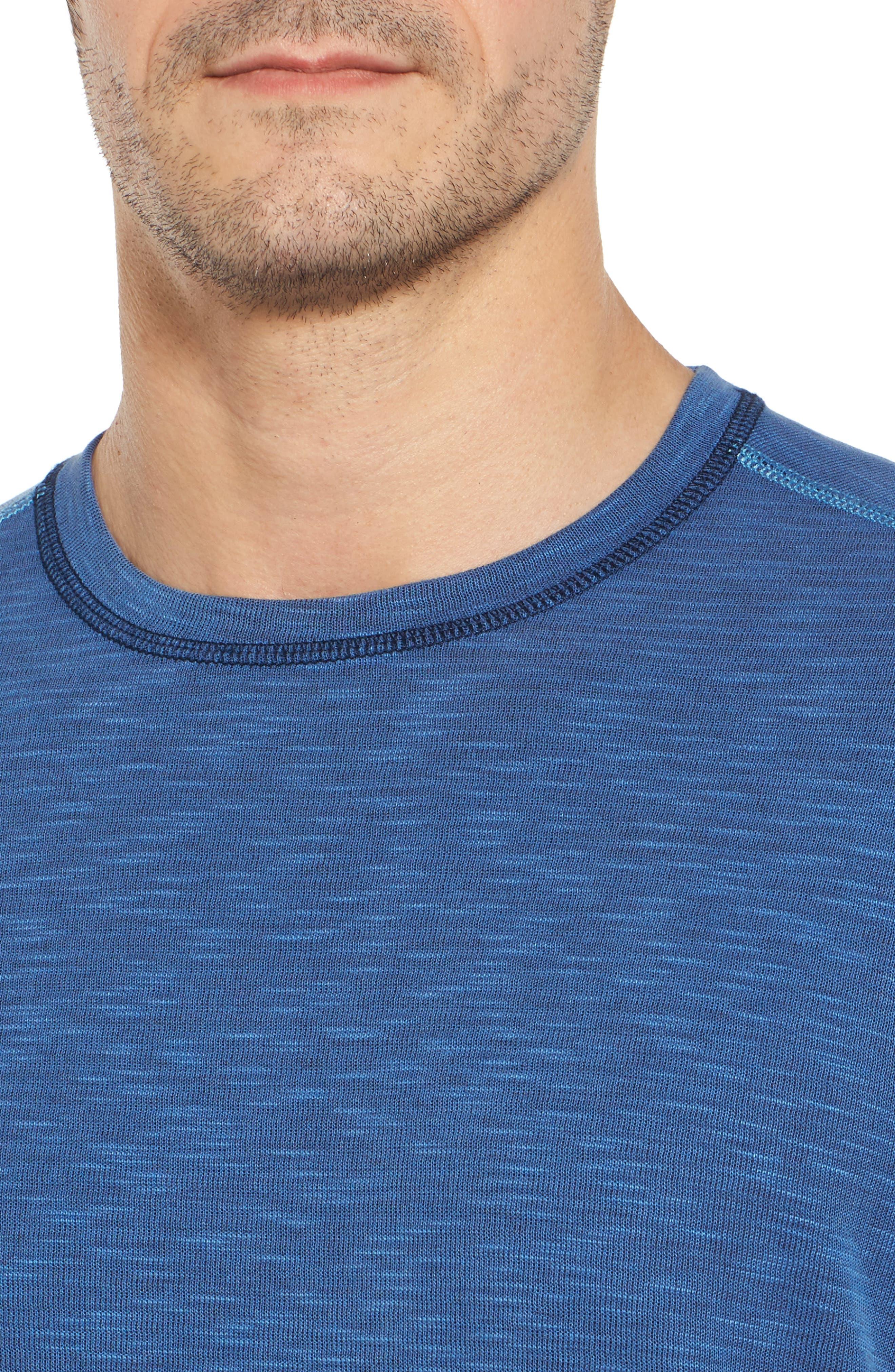 Flip Tide T-Shirt,                             Alternate thumbnail 5, color,                             Galaxy Blue