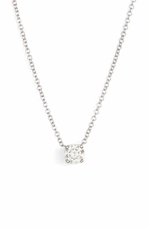 s levy solitaire pendant nordstrom necklaces exclusive c bony women stud diamond liora necklace