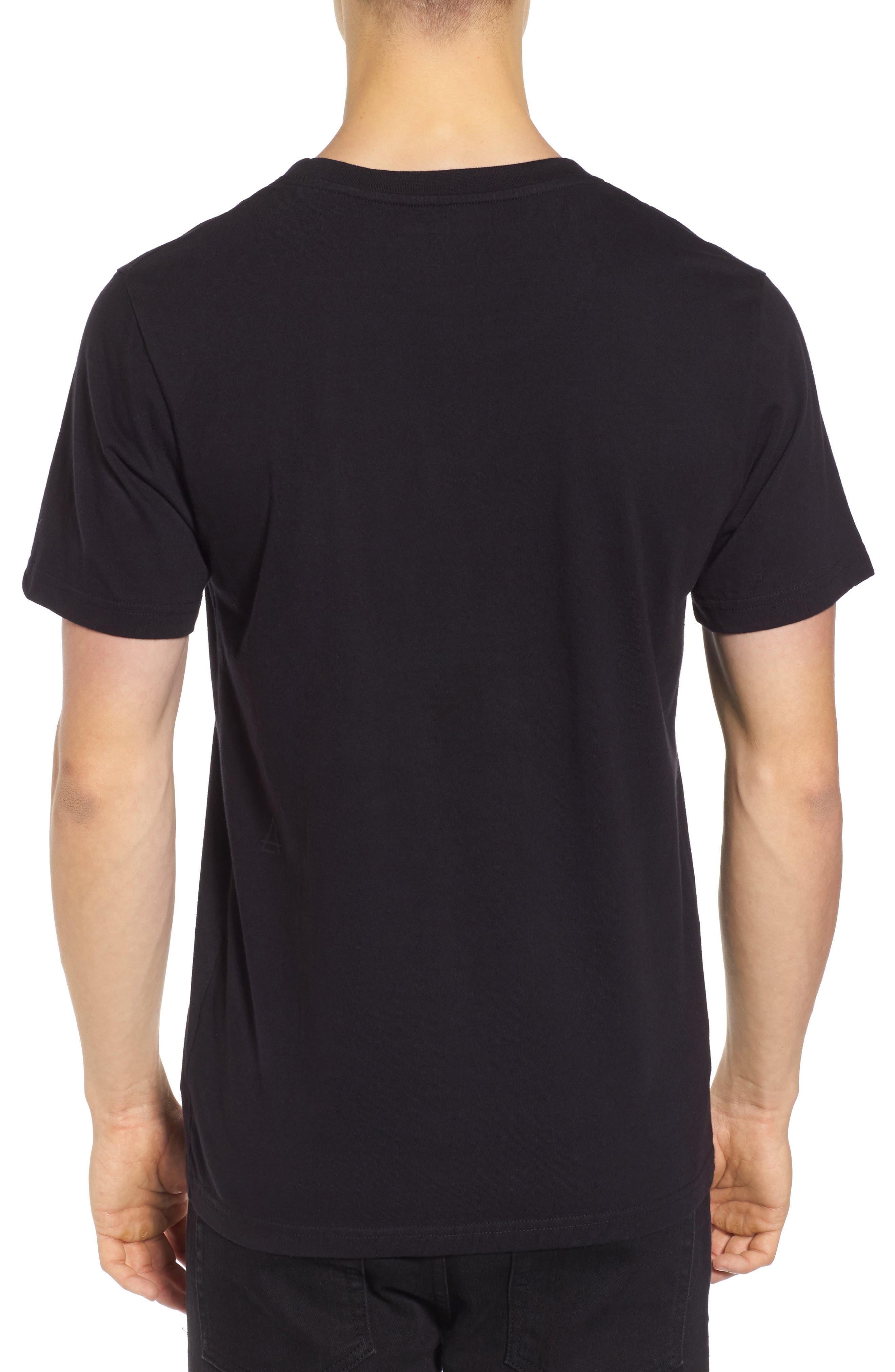 Thug for Life T-Shirt,                             Alternate thumbnail 2, color,                             Black