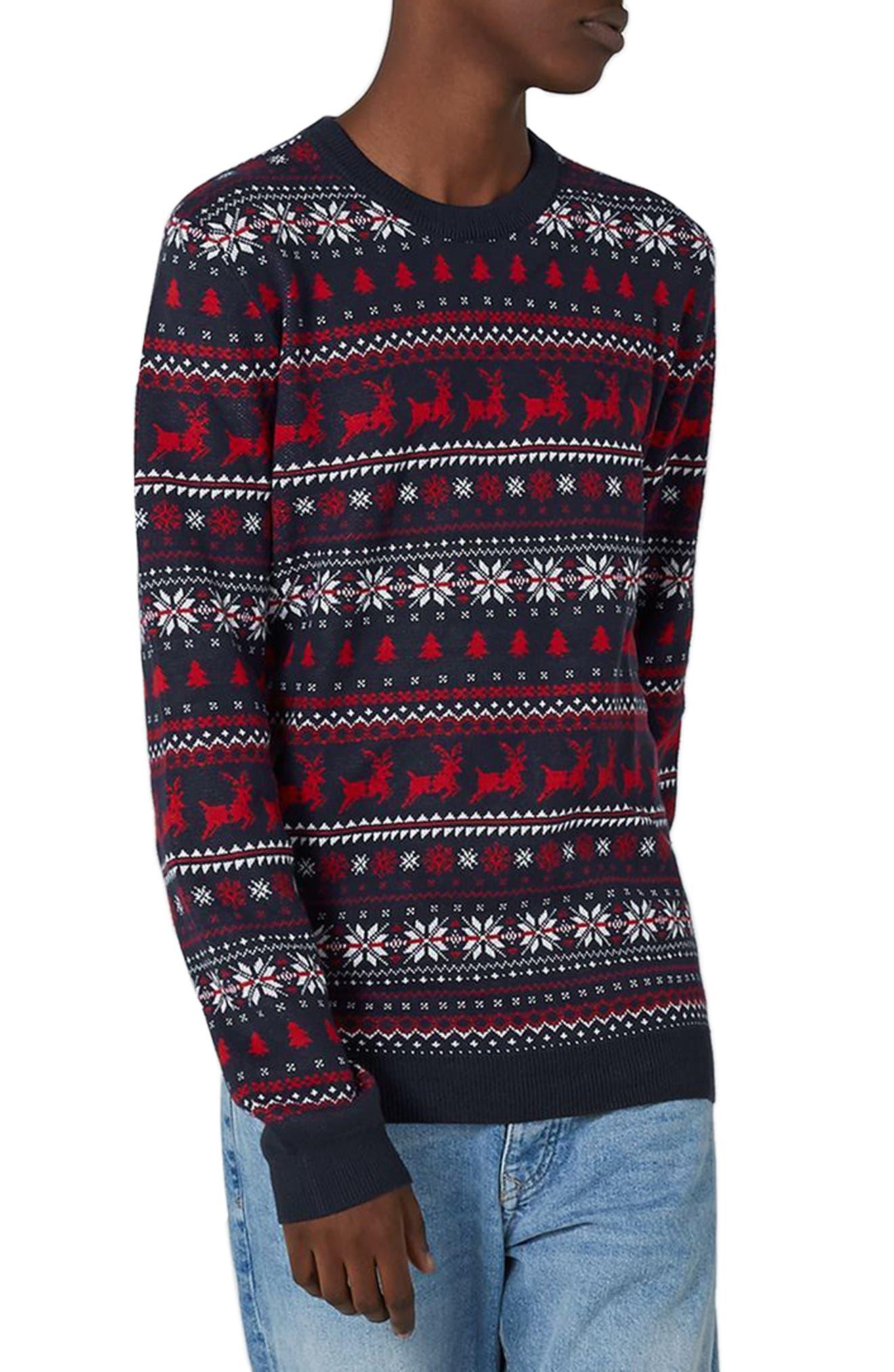 Topman Fair Isle Sweater