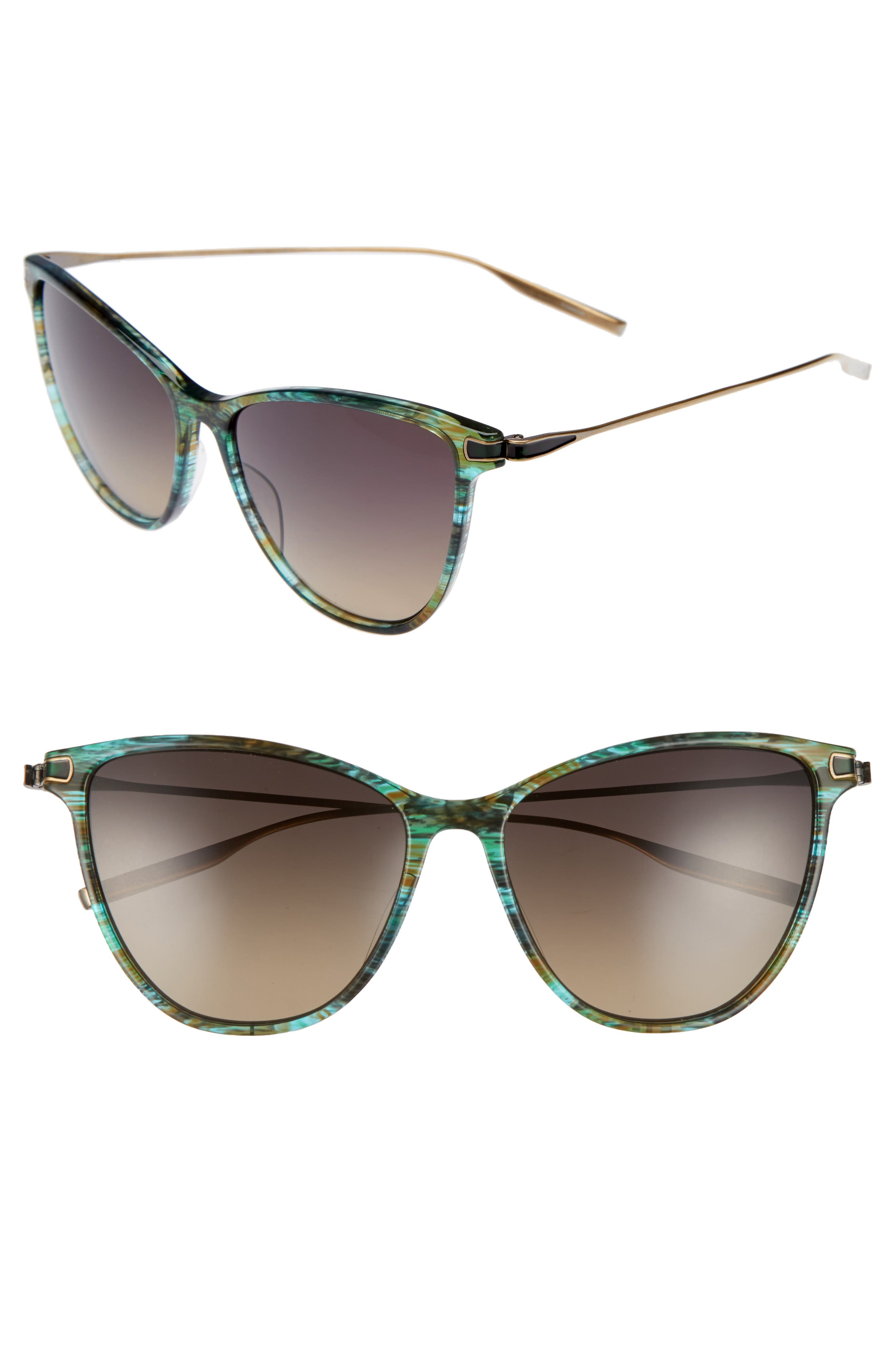 Alternate Image 1 Selected - Salt 58mm Polarized Cat Eye Sunglasses