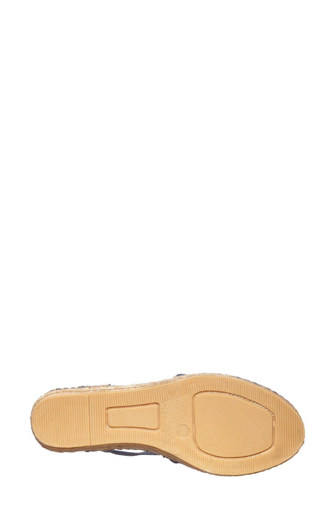 Alternate Image 4  - Toni Pons 'Nantes' Silk Stripe Sandal (Women)