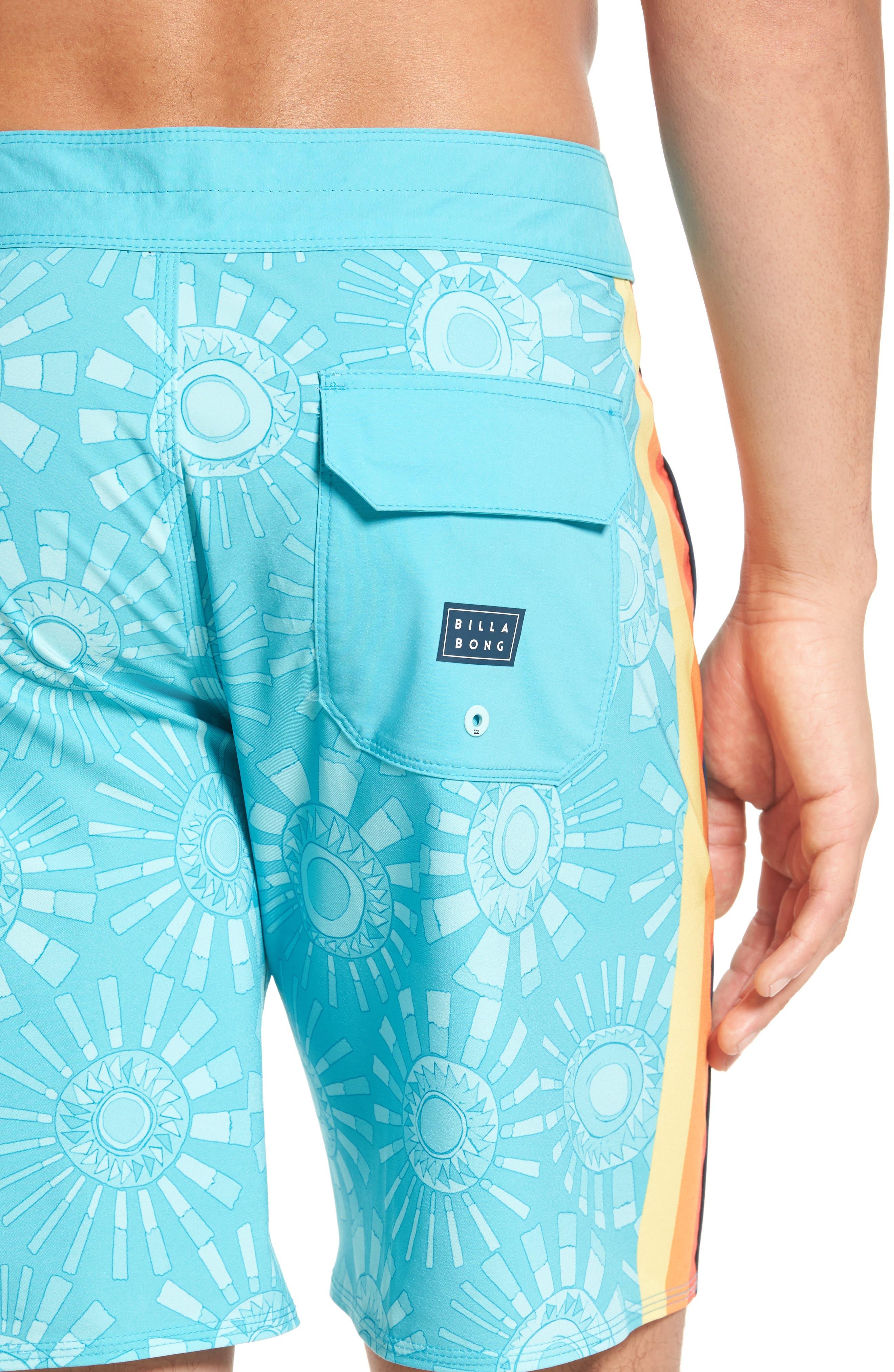 D Bah Airlite Board Shorts,                             Alternate thumbnail 2, color,                             Mint