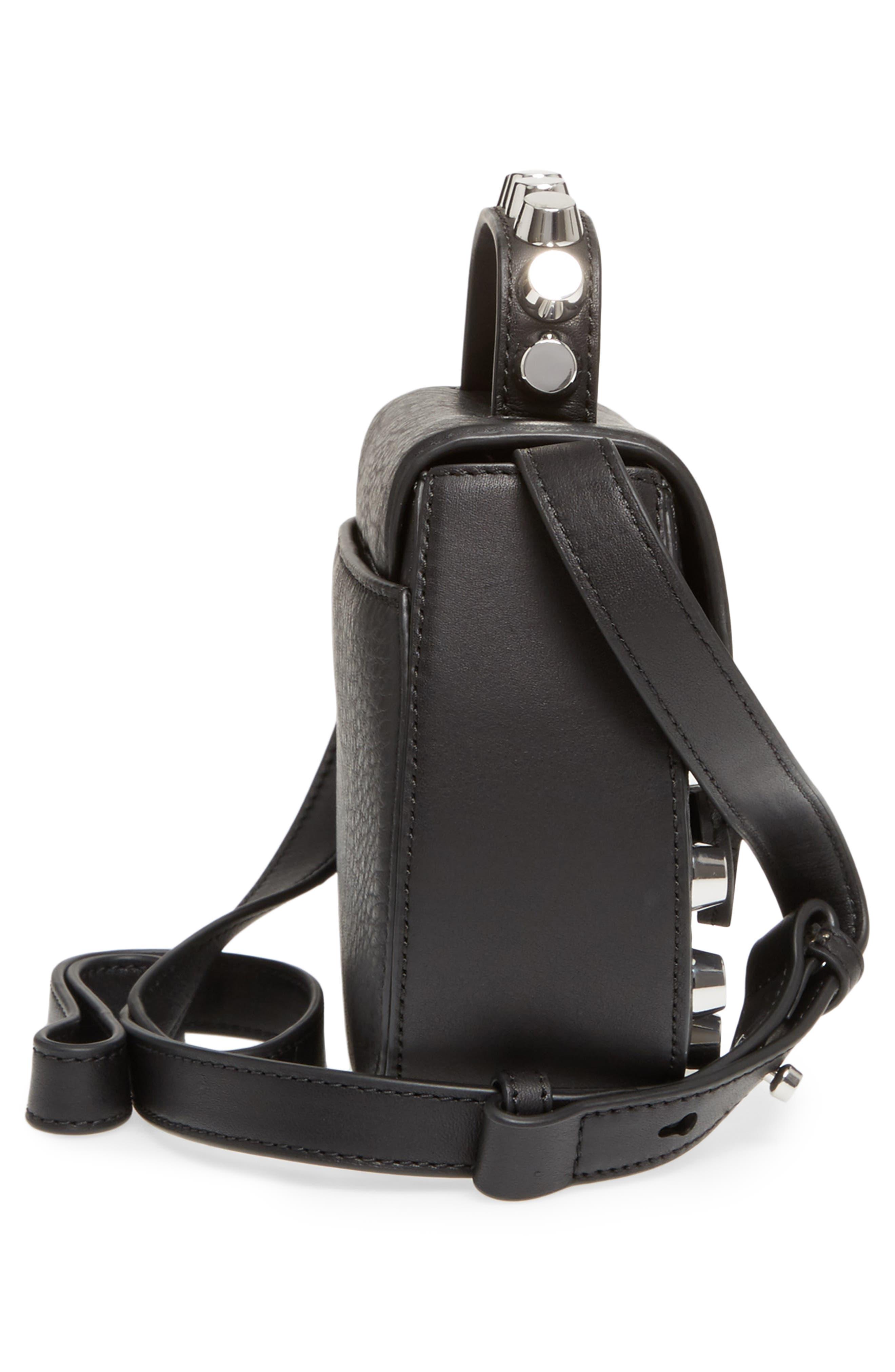 Alternate Image 5  - Mackage Wilma Studded Leather Crossbody Bag