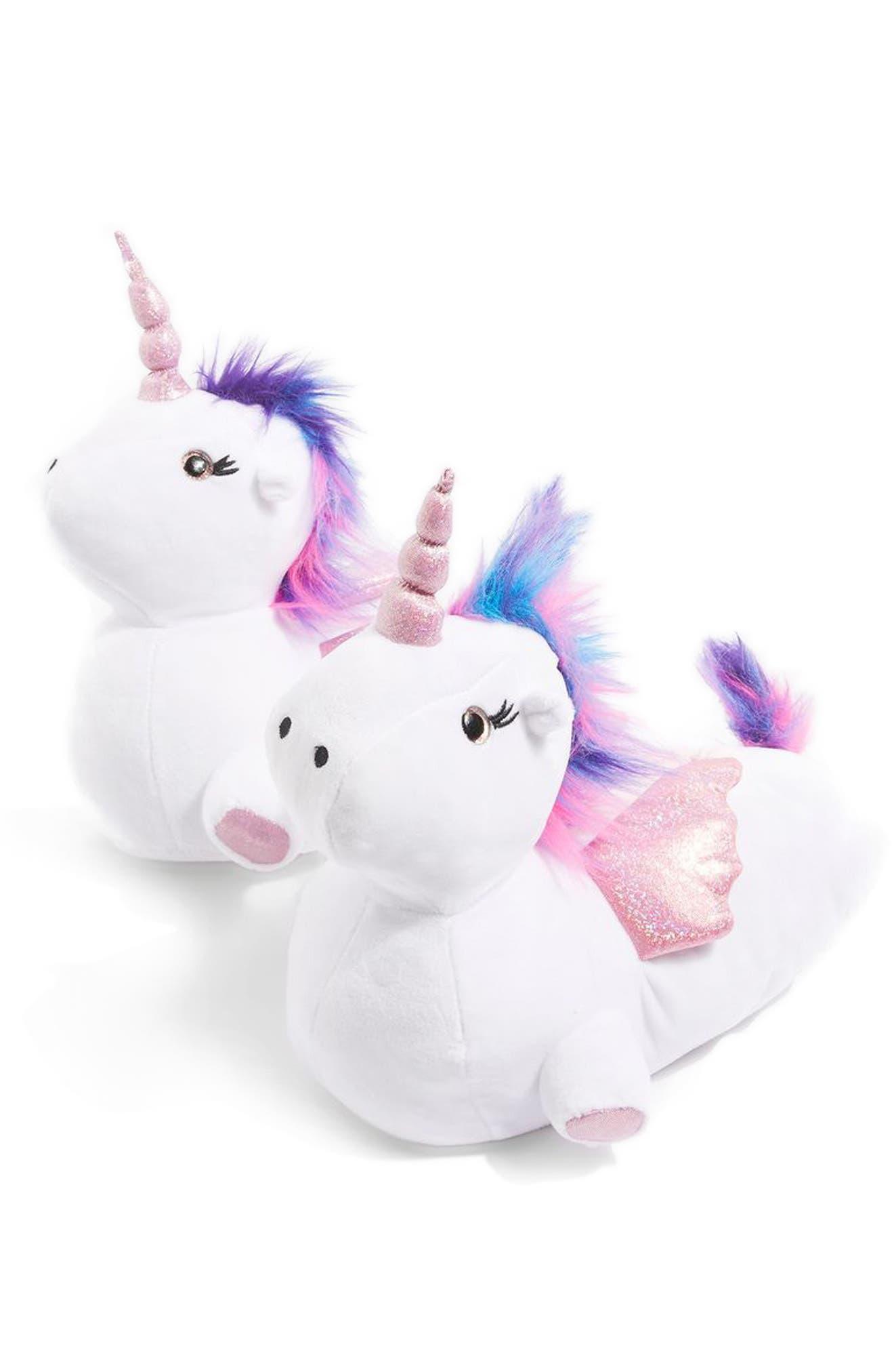 Topshop Luna Unicorn Slippers