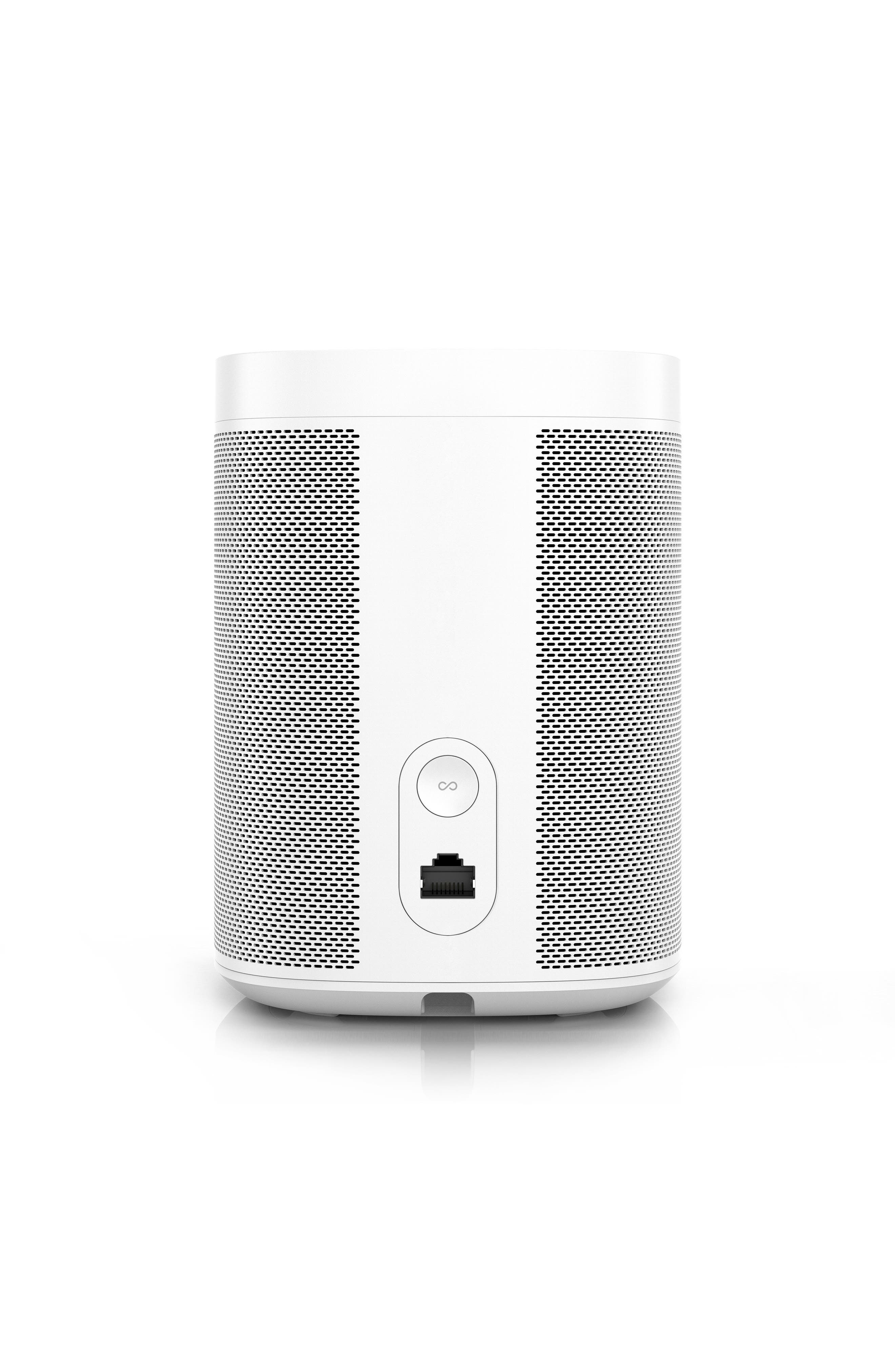 One Voice Controlled Smart Speaker,                             Alternate thumbnail 3, color,                             White