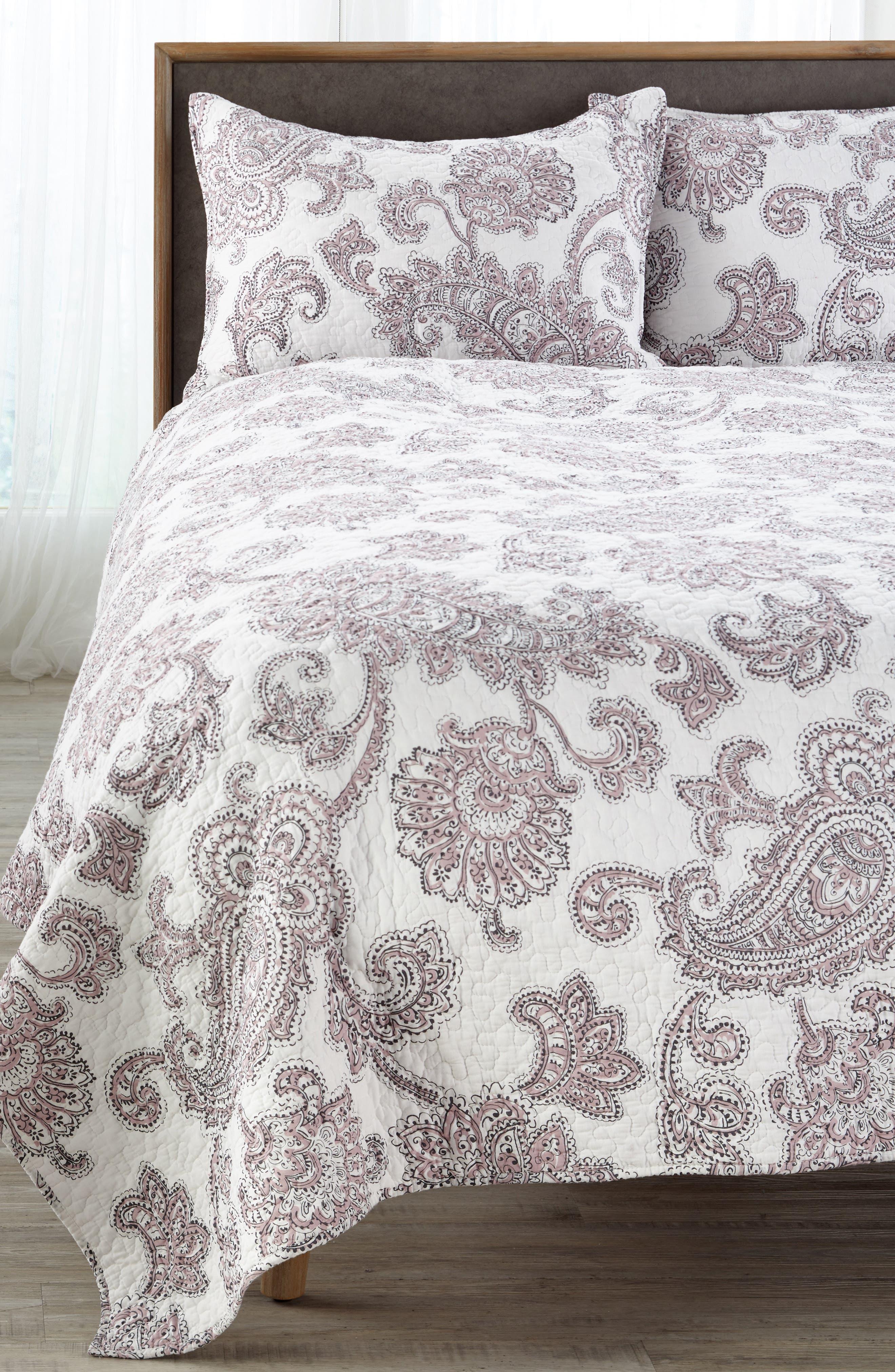 Parma Reversible Quilt,                             Alternate thumbnail 2, color,                             Lavender