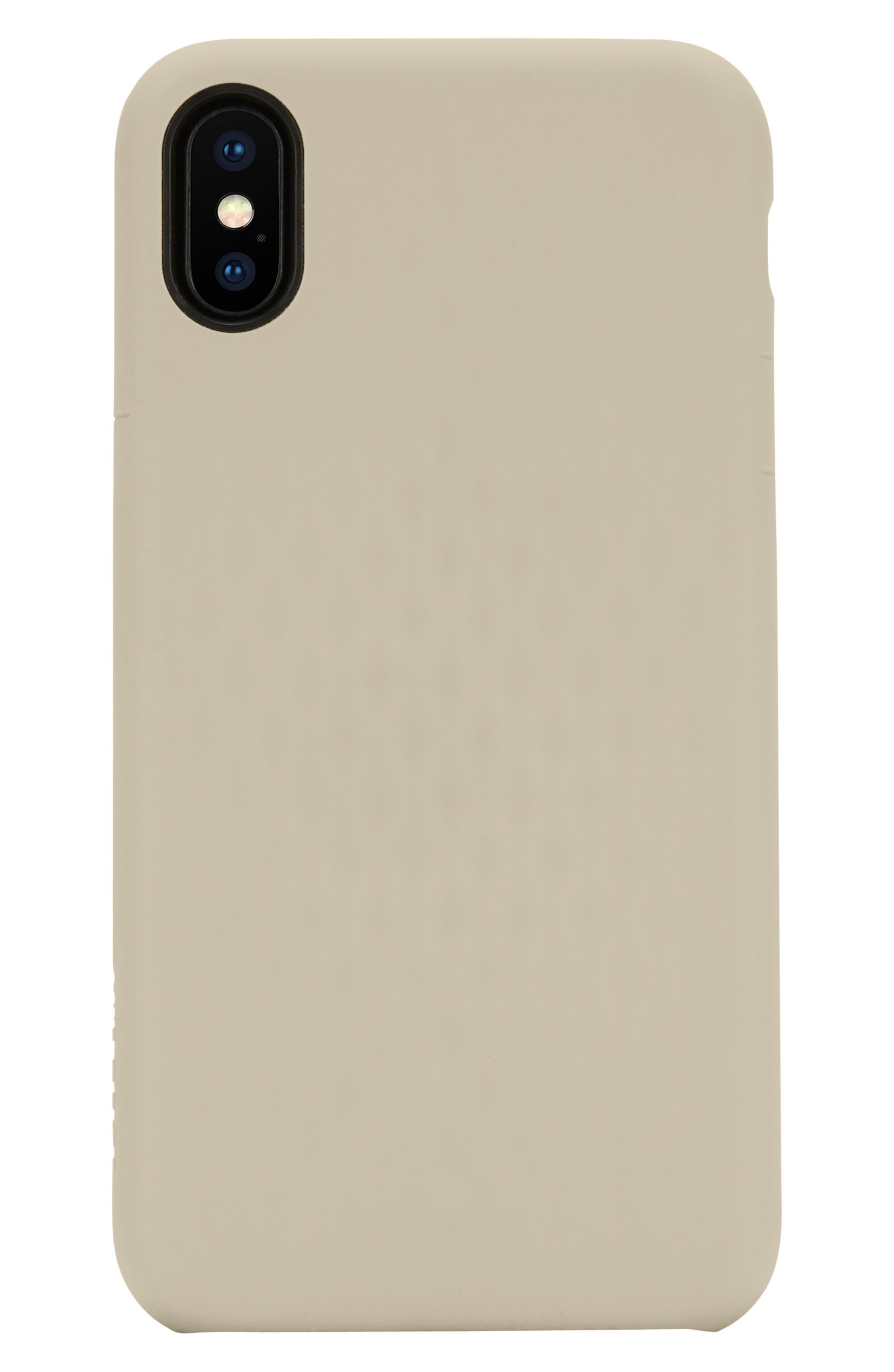 Facet iPhone X Case,                         Main,                         color, Gold
