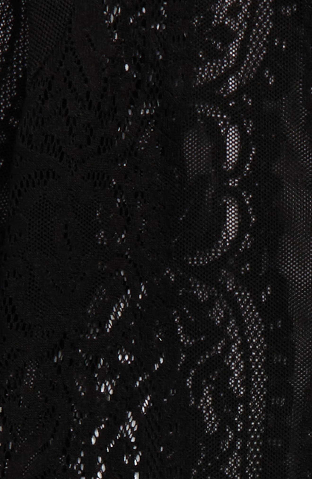 Lace Cardigan,                             Alternate thumbnail 2, color,                             Black