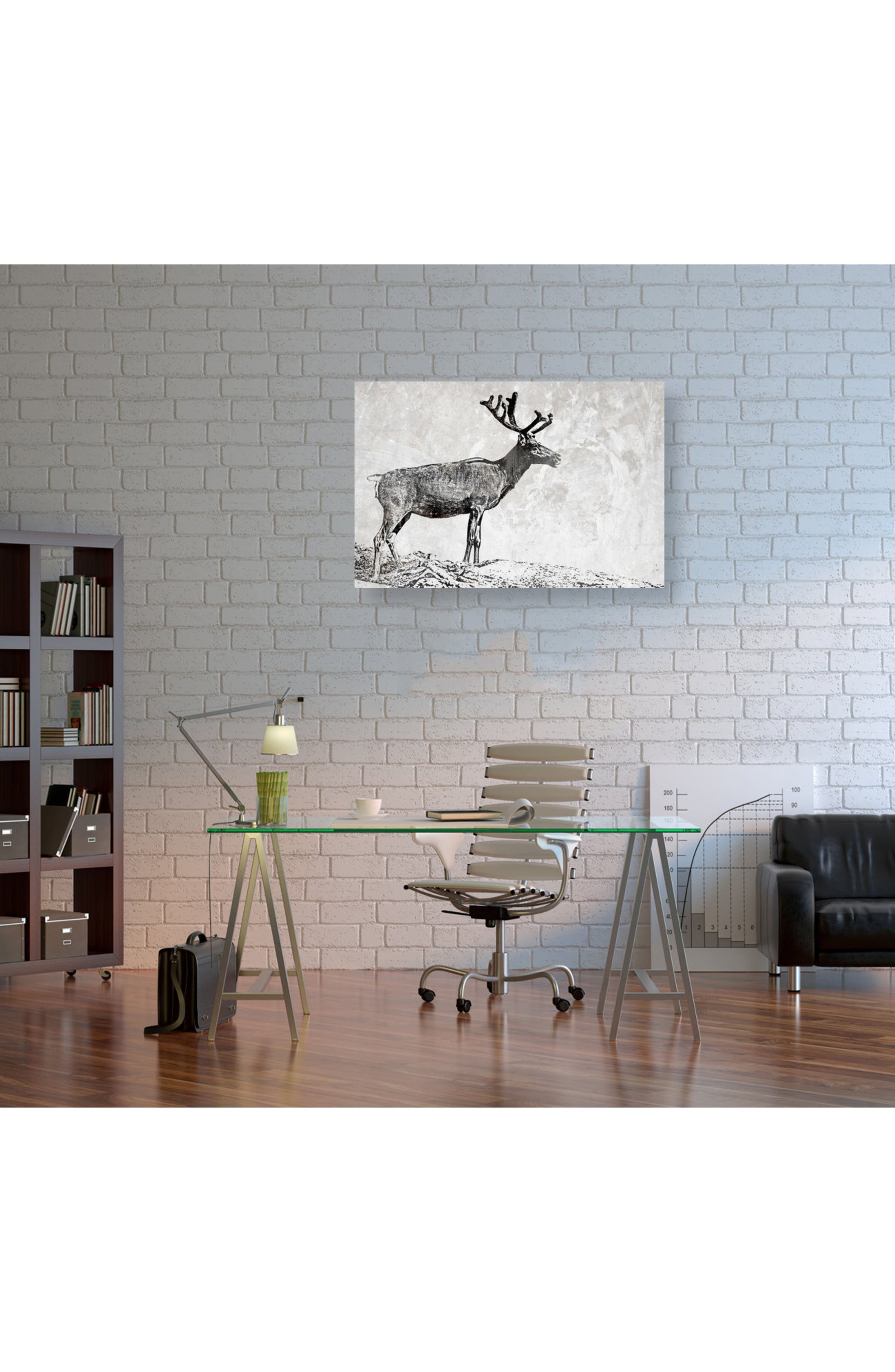 In the Woods Canvas Wall Art,                             Alternate thumbnail 2, color,                             Grey