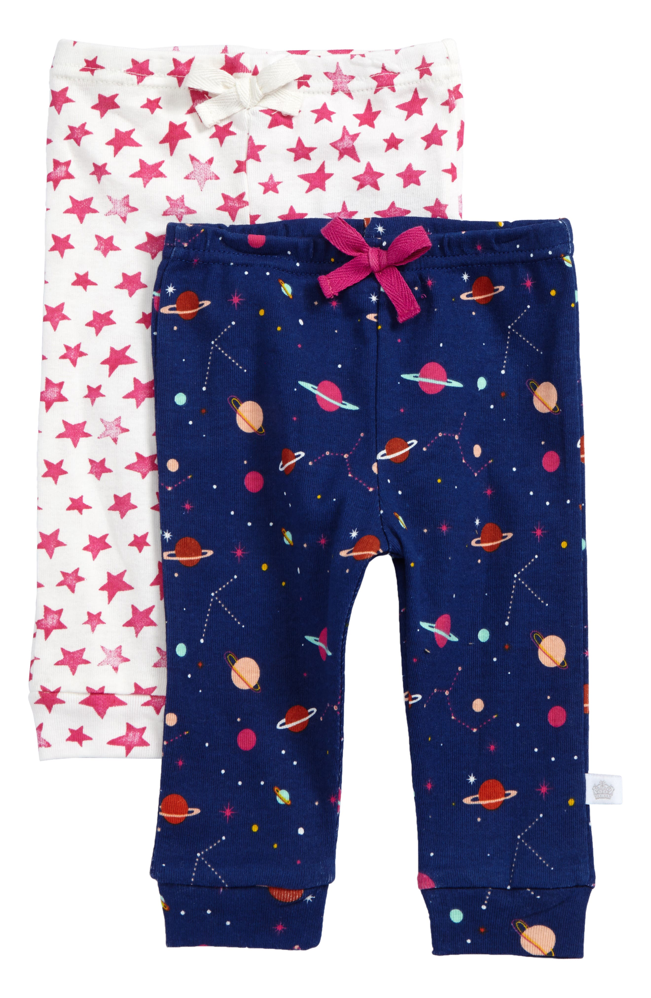 Rosie Pope Planets & Stars 2-Pack Leggings (Baby Girls)