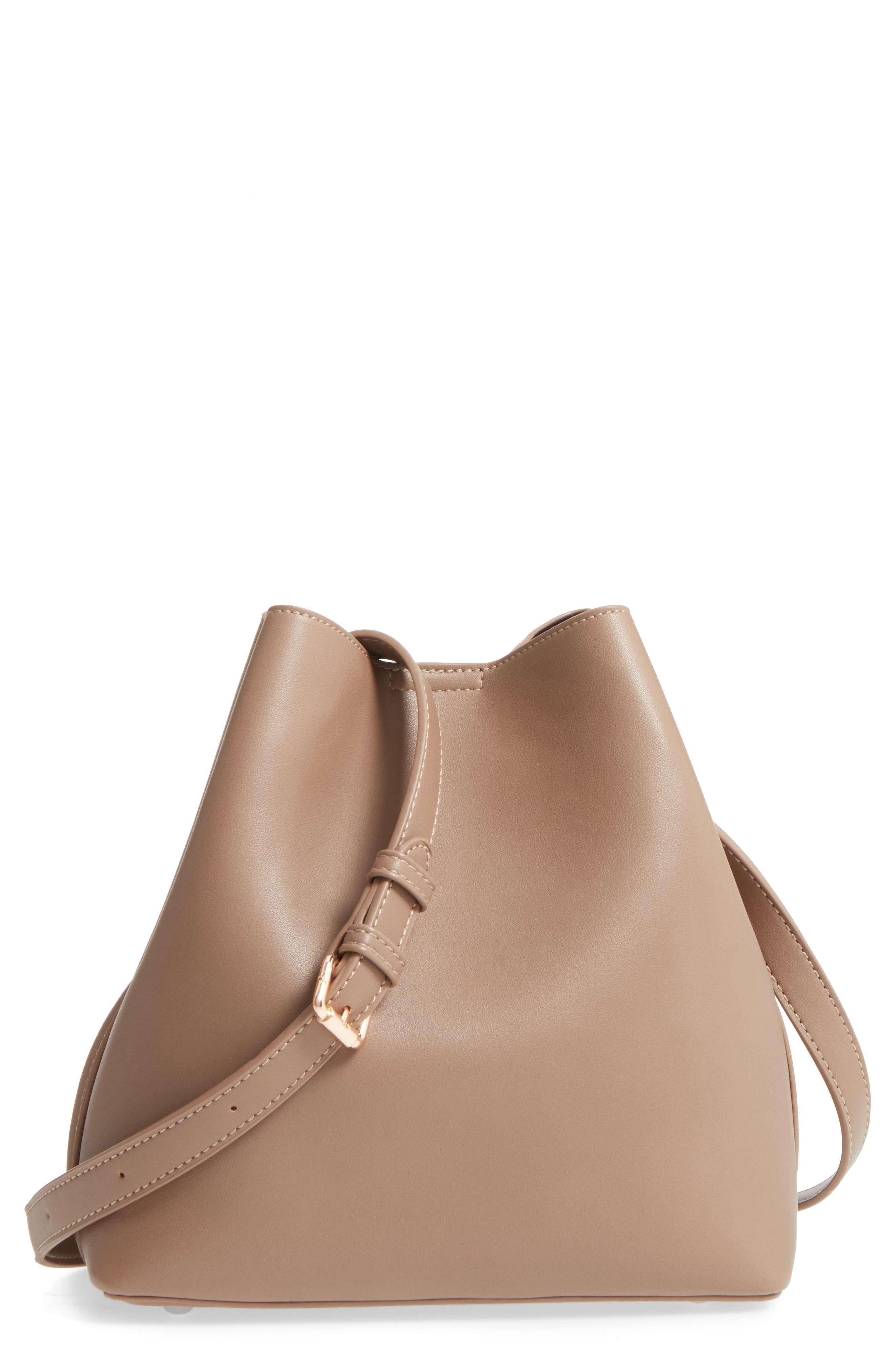 Noni Crossbody Bag,                         Main,                         color, Taupe