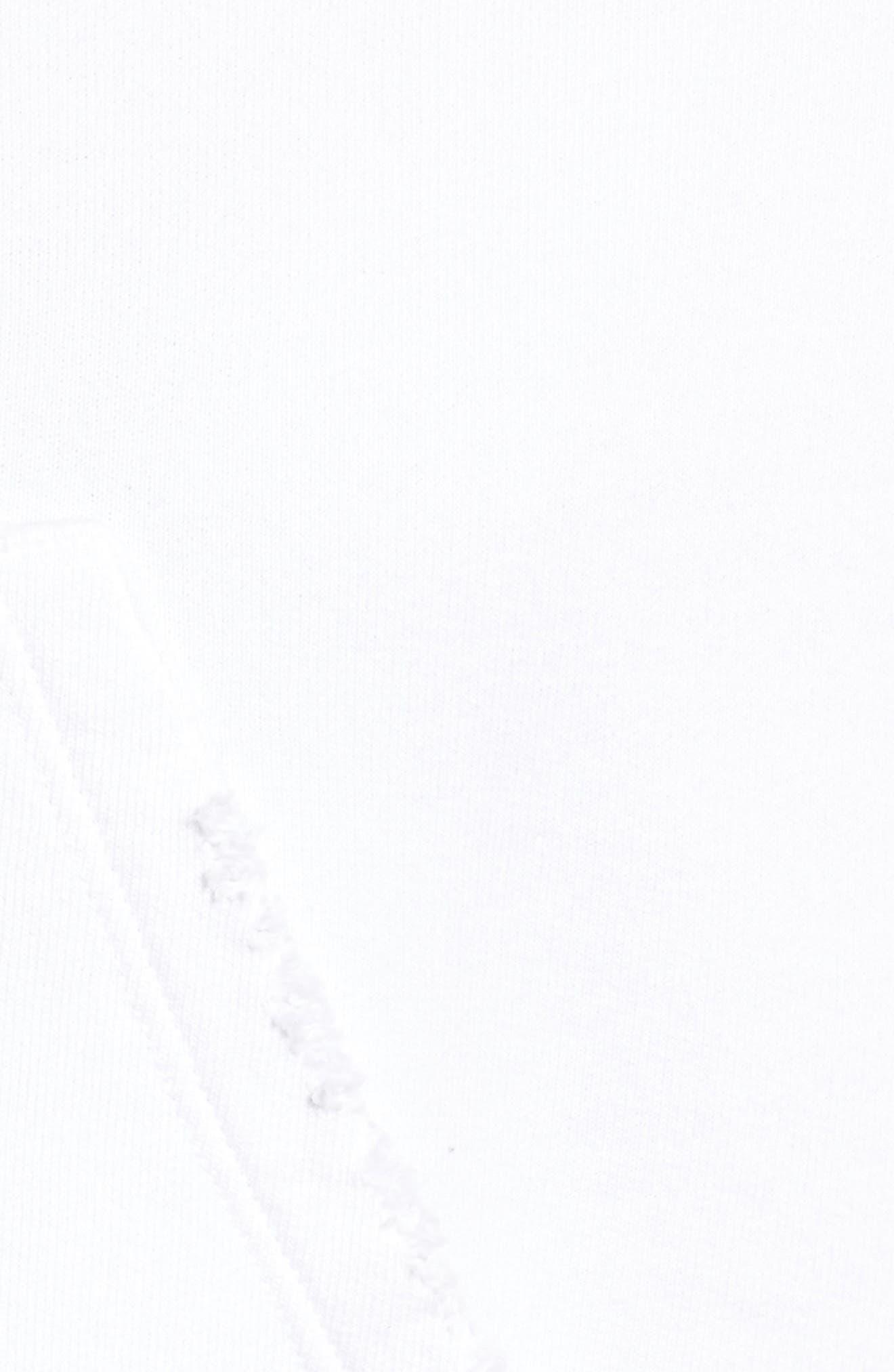 Zip Hoodie,                             Alternate thumbnail 5, color,                             Dirty White