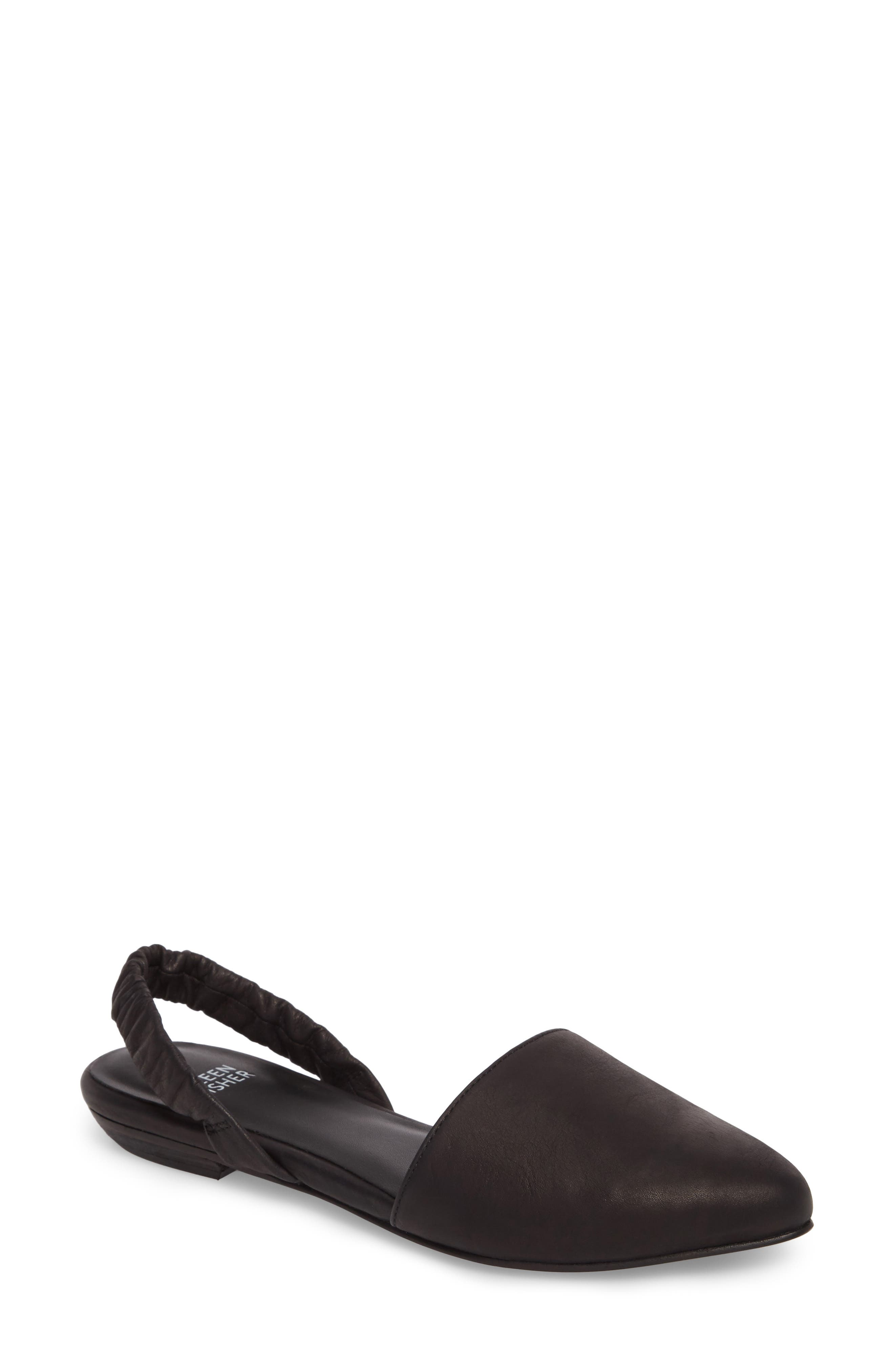 Alternate Image 1 Selected - Eileen Fisher Tula Slingback Flat (Women)