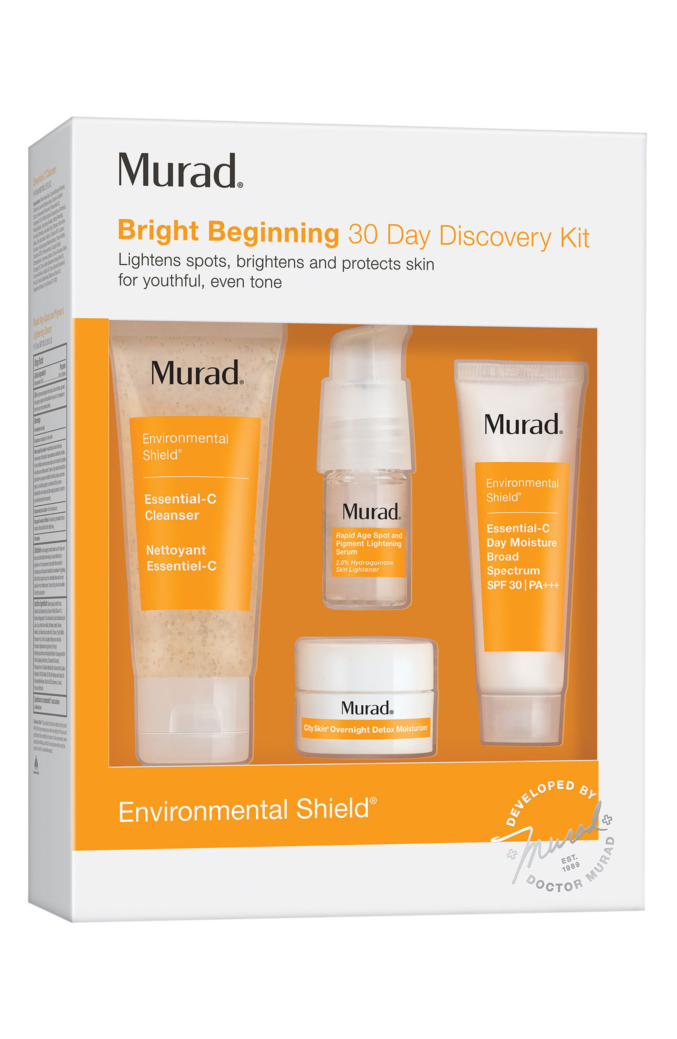 Main Image - Murad® Bright Beginning 30 Day Discovery Kit ($61 Value)