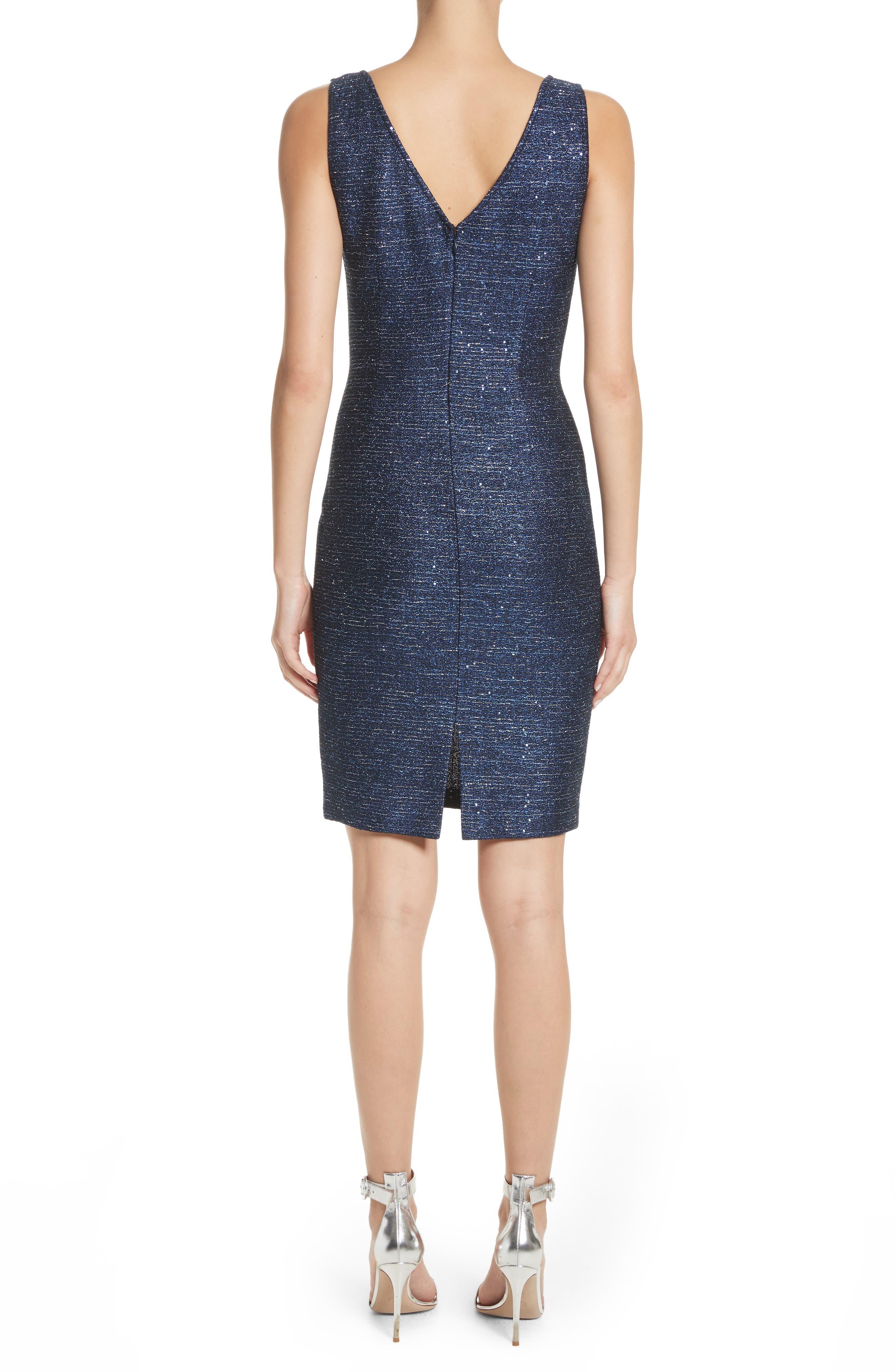 Alternate Image 2  - St. John Collection Sparkle Knit Sheath Dress