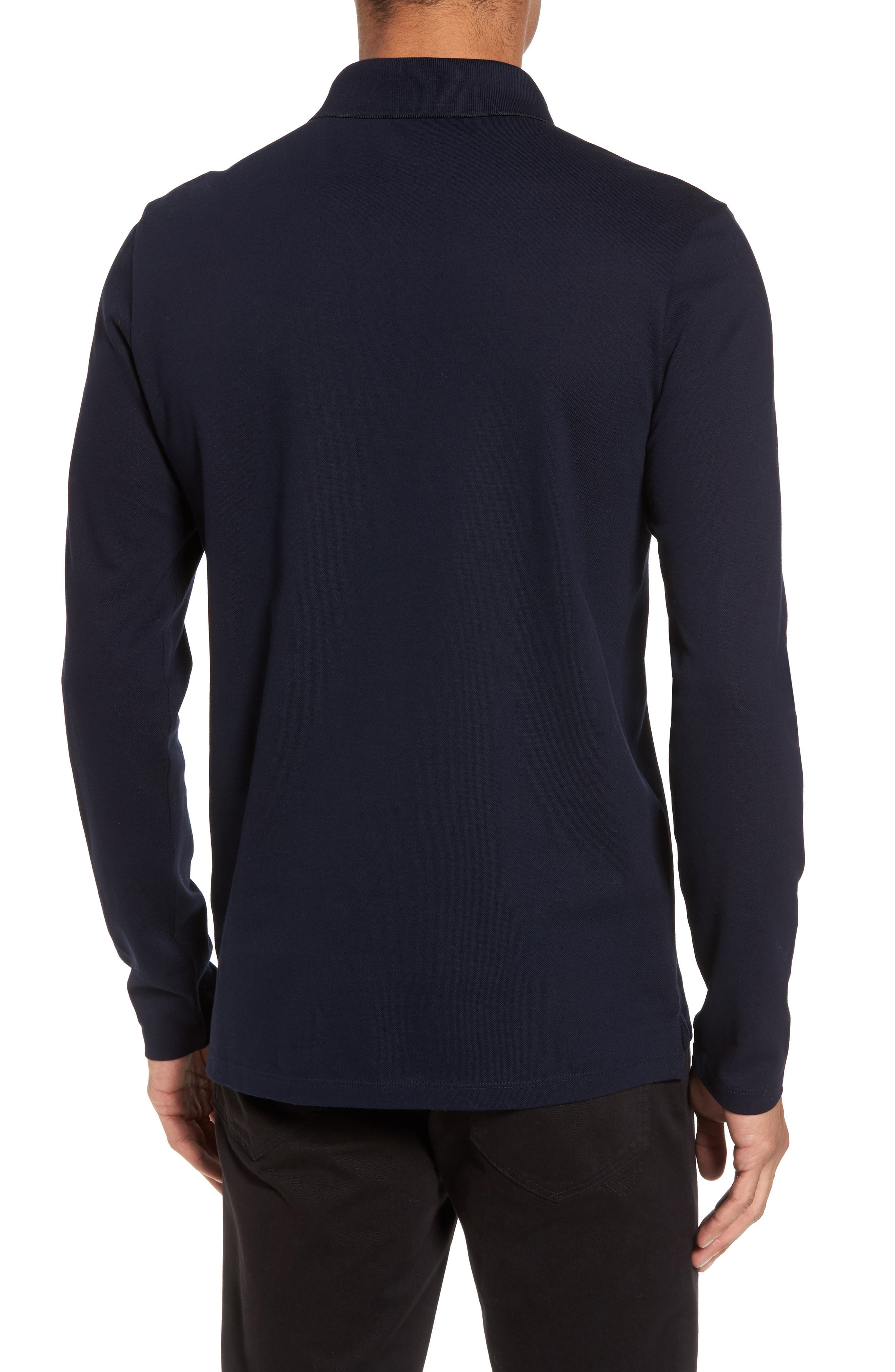 Alternate Image 2  - BOSS Pleins Slim Fit Long Sleeve Polo