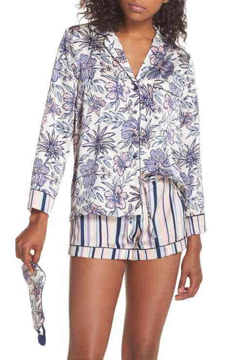 Sam Edelman Short Pajamas & Eye Mask Set Online Cheap