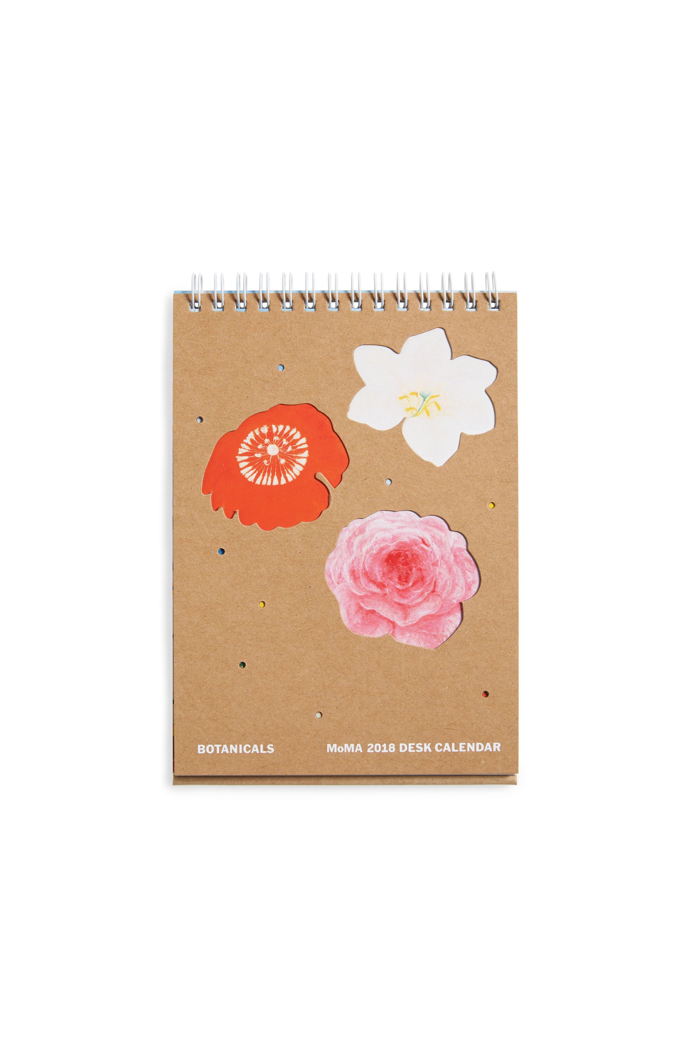 MoMA Design Store 2018 Botanicals Desk Calendar