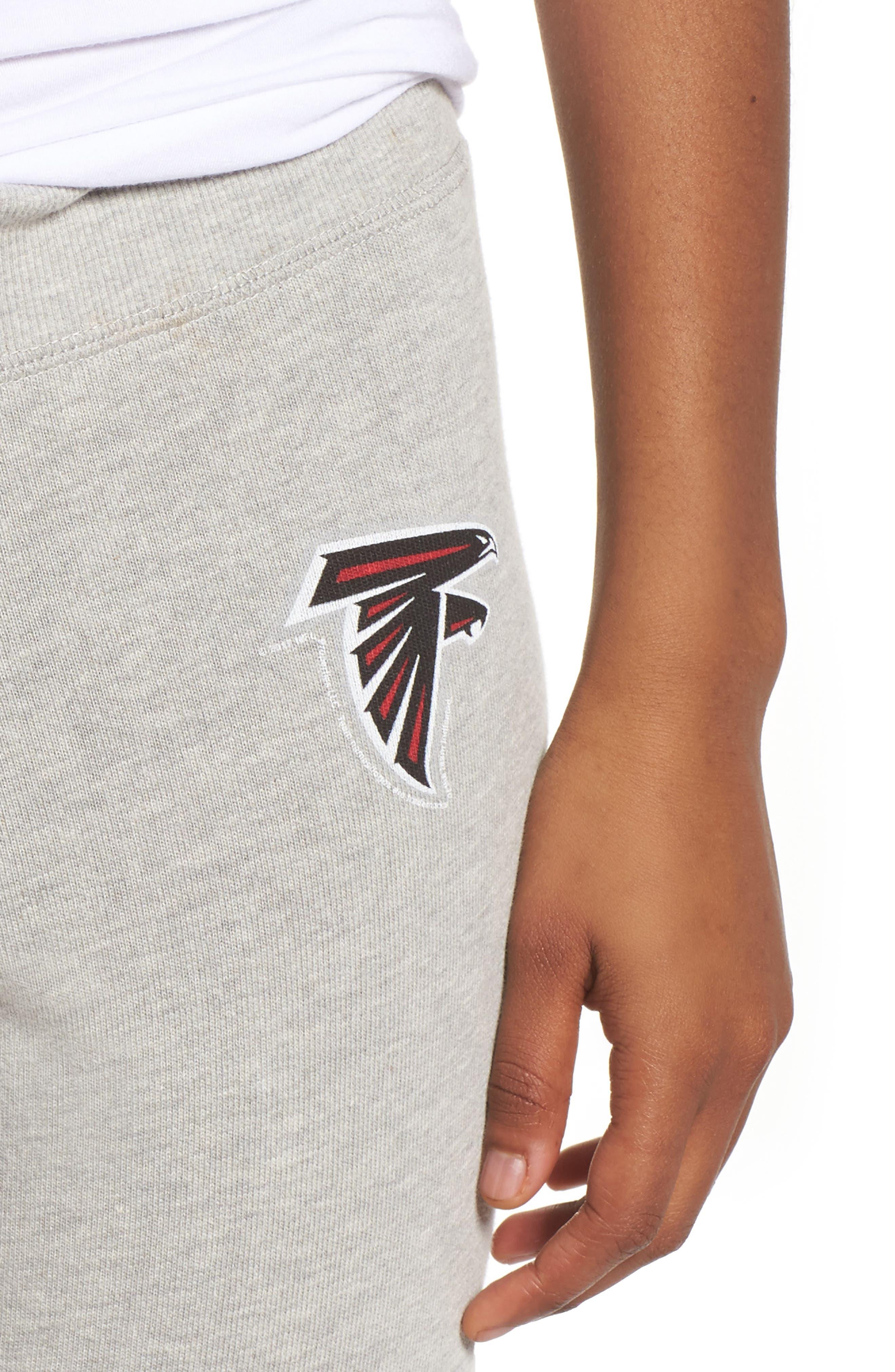 NFL Atlanta Falcons Hacci Sweatpants,                             Alternate thumbnail 4, color,                             Dove Heather Grey