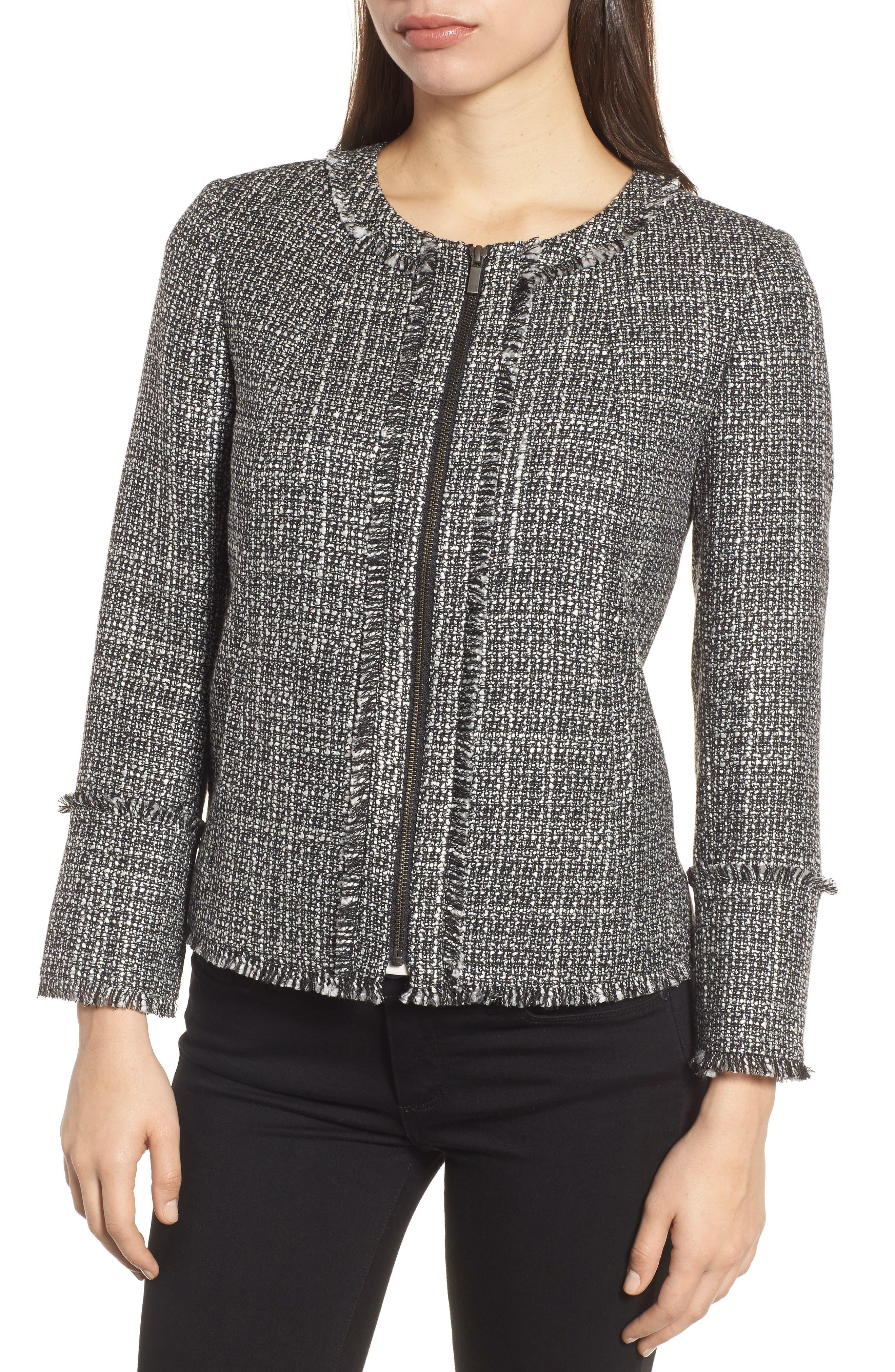 Alternate Image 4  - Emerson Rose Tweed Jacket
