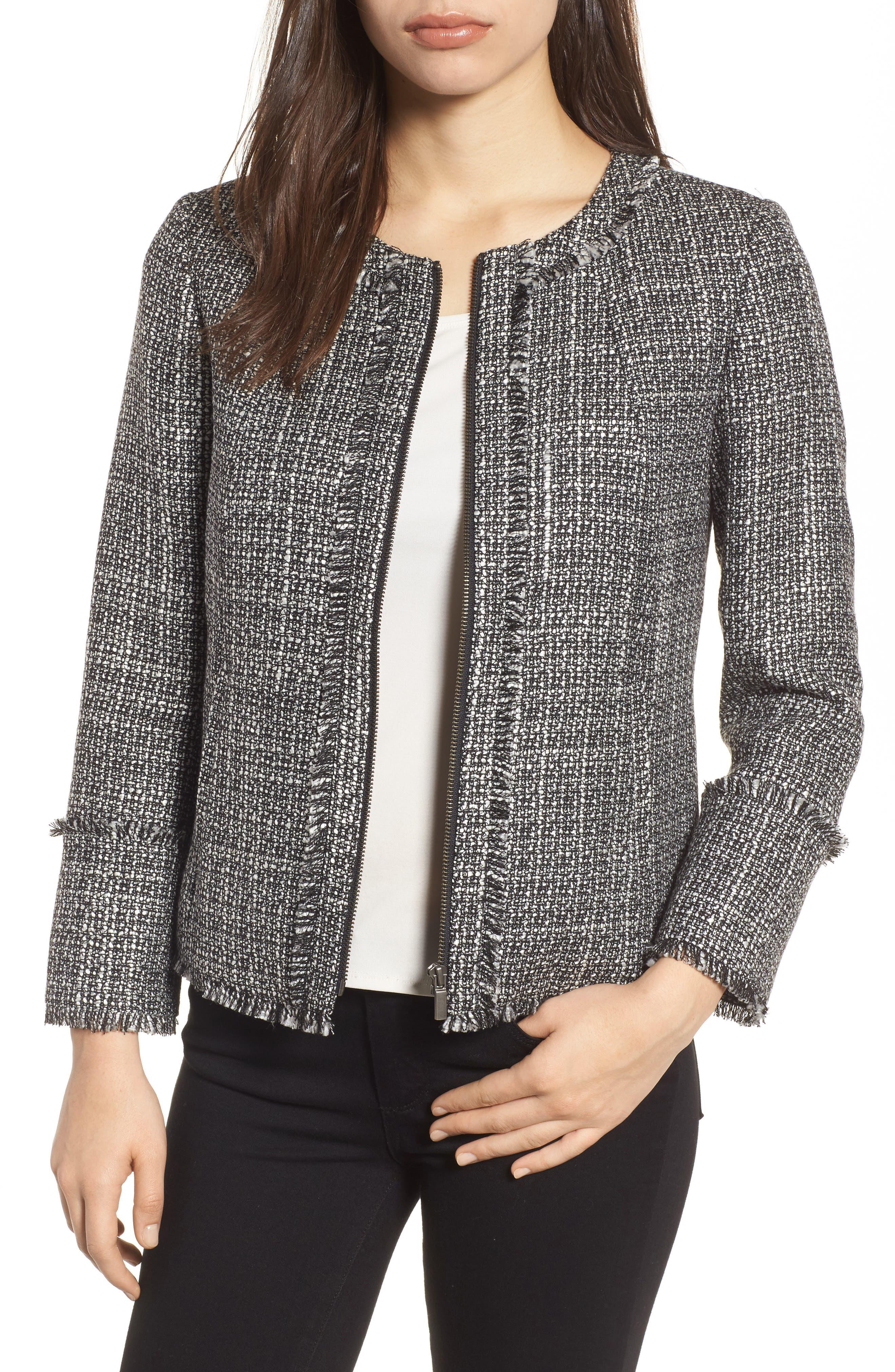 Alternate Image 1 Selected - Emerson Rose Tweed Jacket