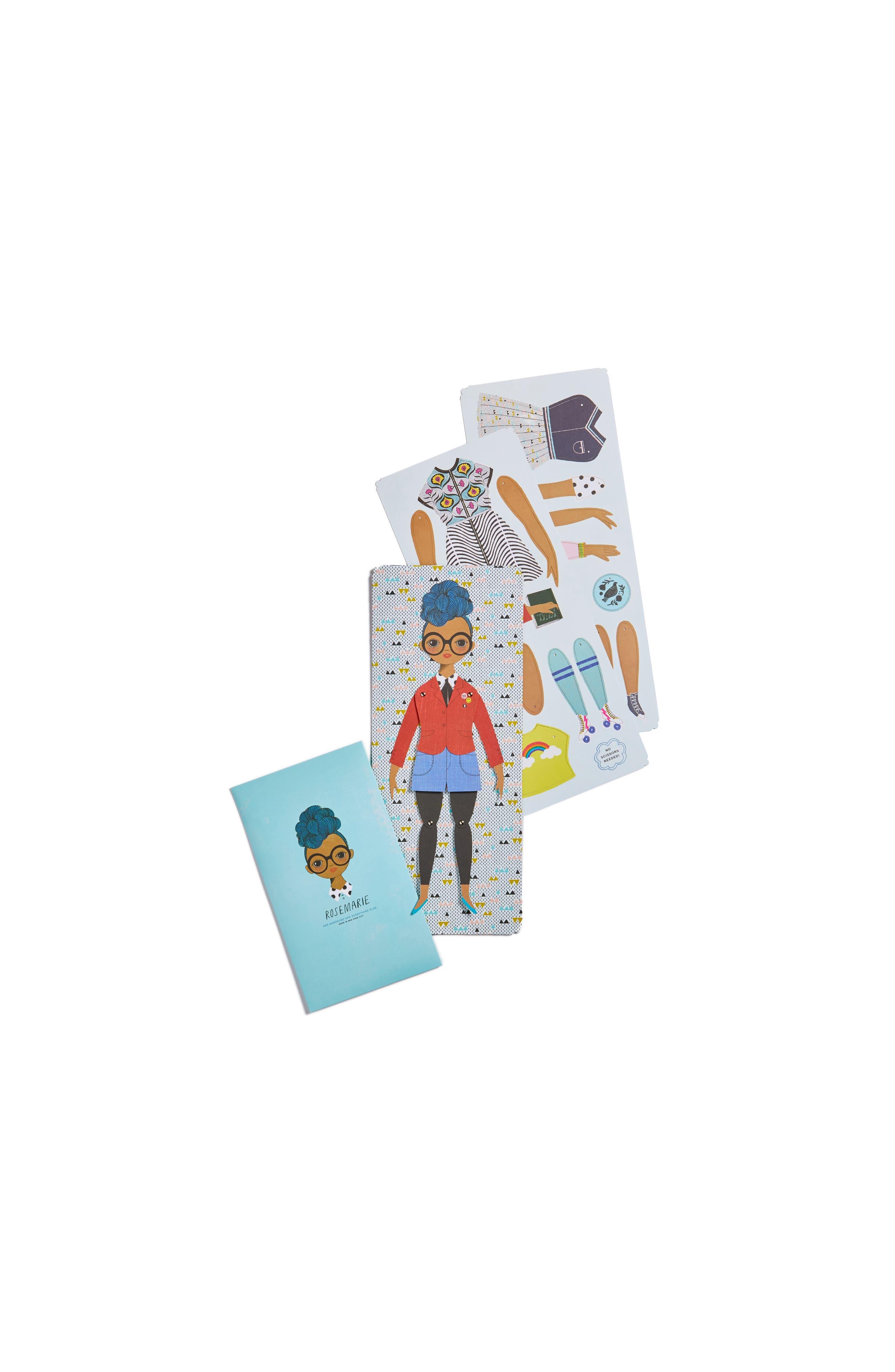 Of Unusual Kind Rosemarie Paper Doll Kit