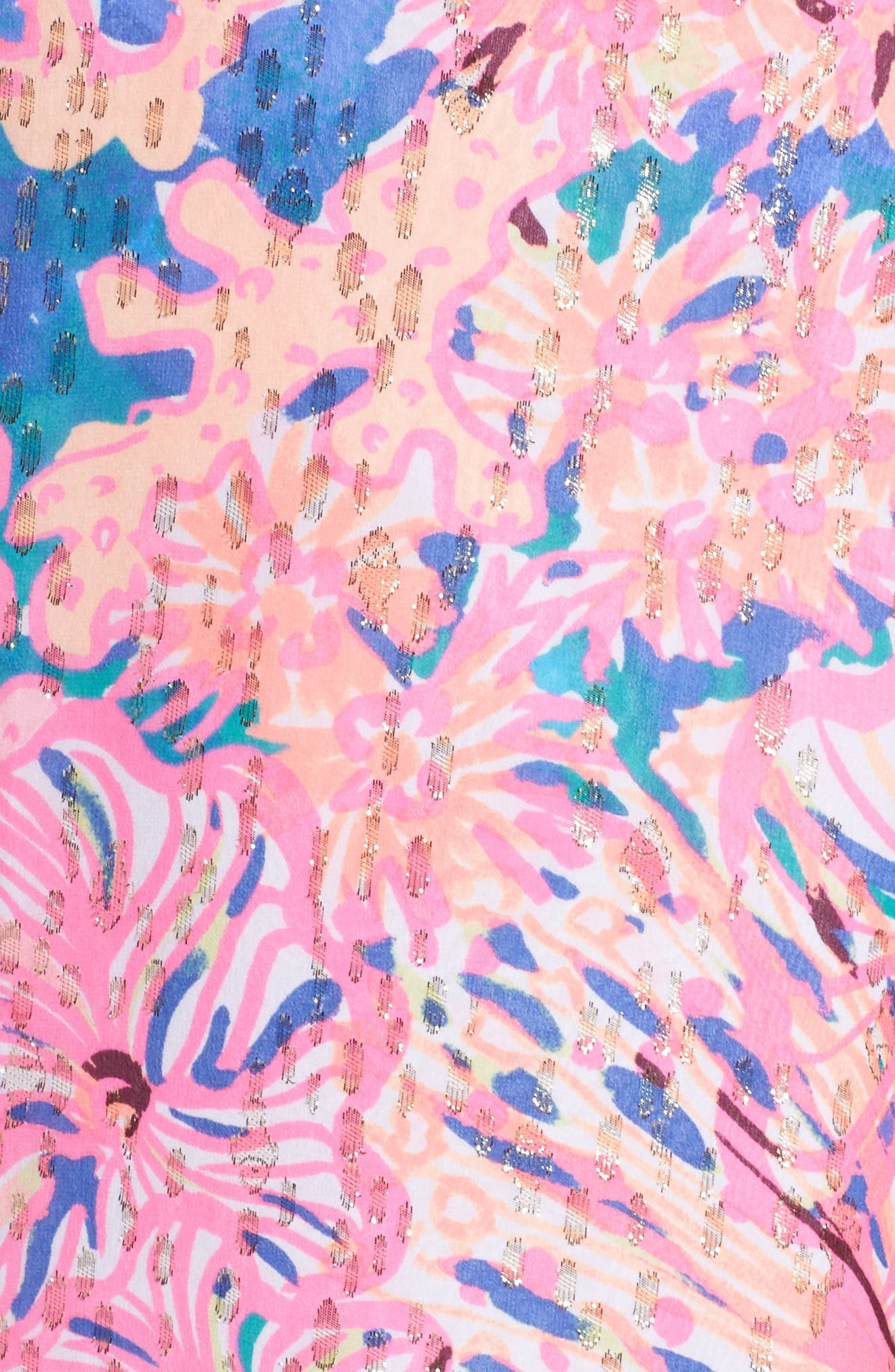 Matilda Tunic Dress,                             Alternate thumbnail 5, color,                             Multi Swirling Seadream