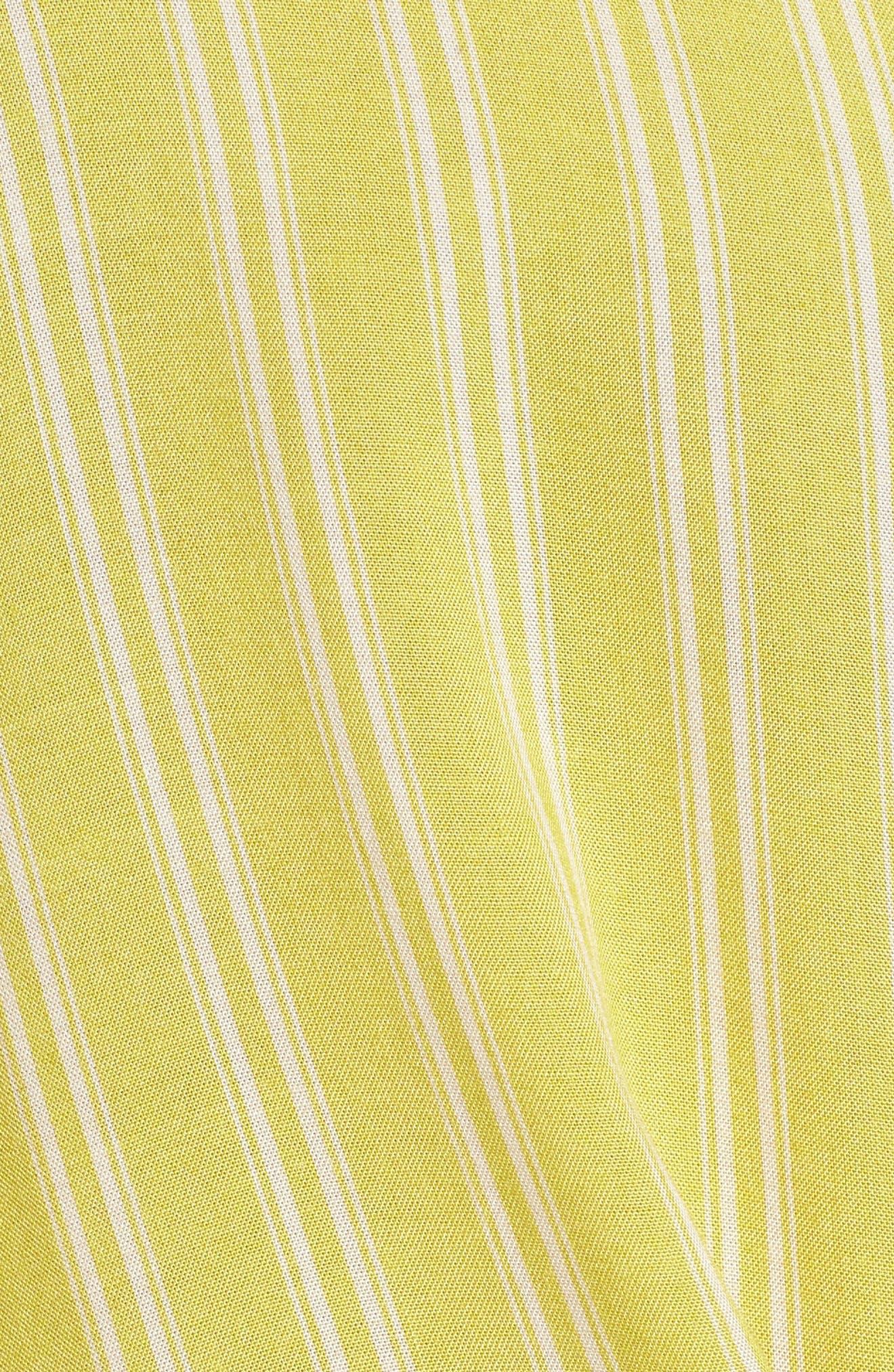 Alternate Image 5  - Stripe Tie Waist Blouse