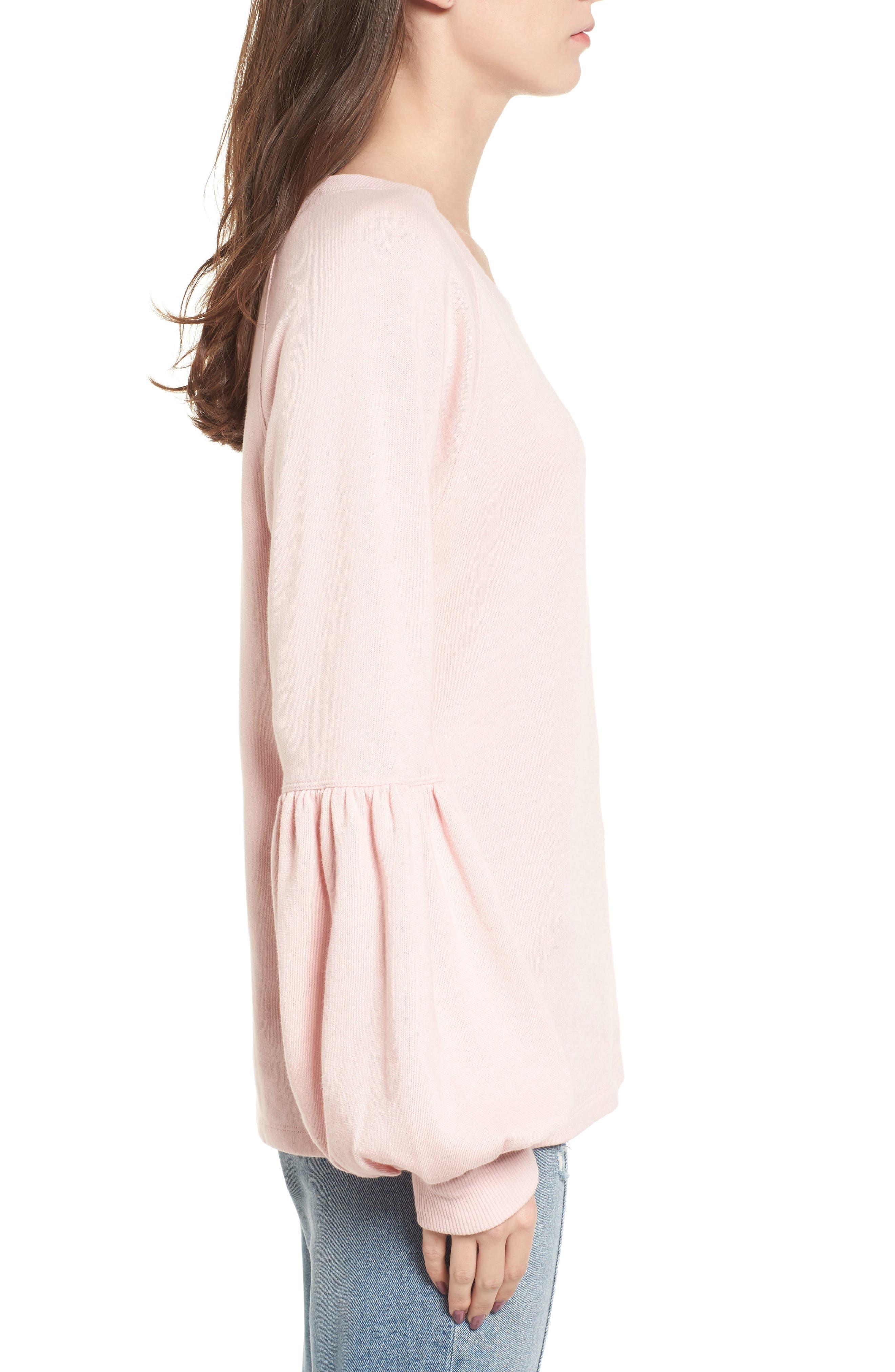 Alternate Image 3  - BP. Blouson Sleeve Sweatshirt