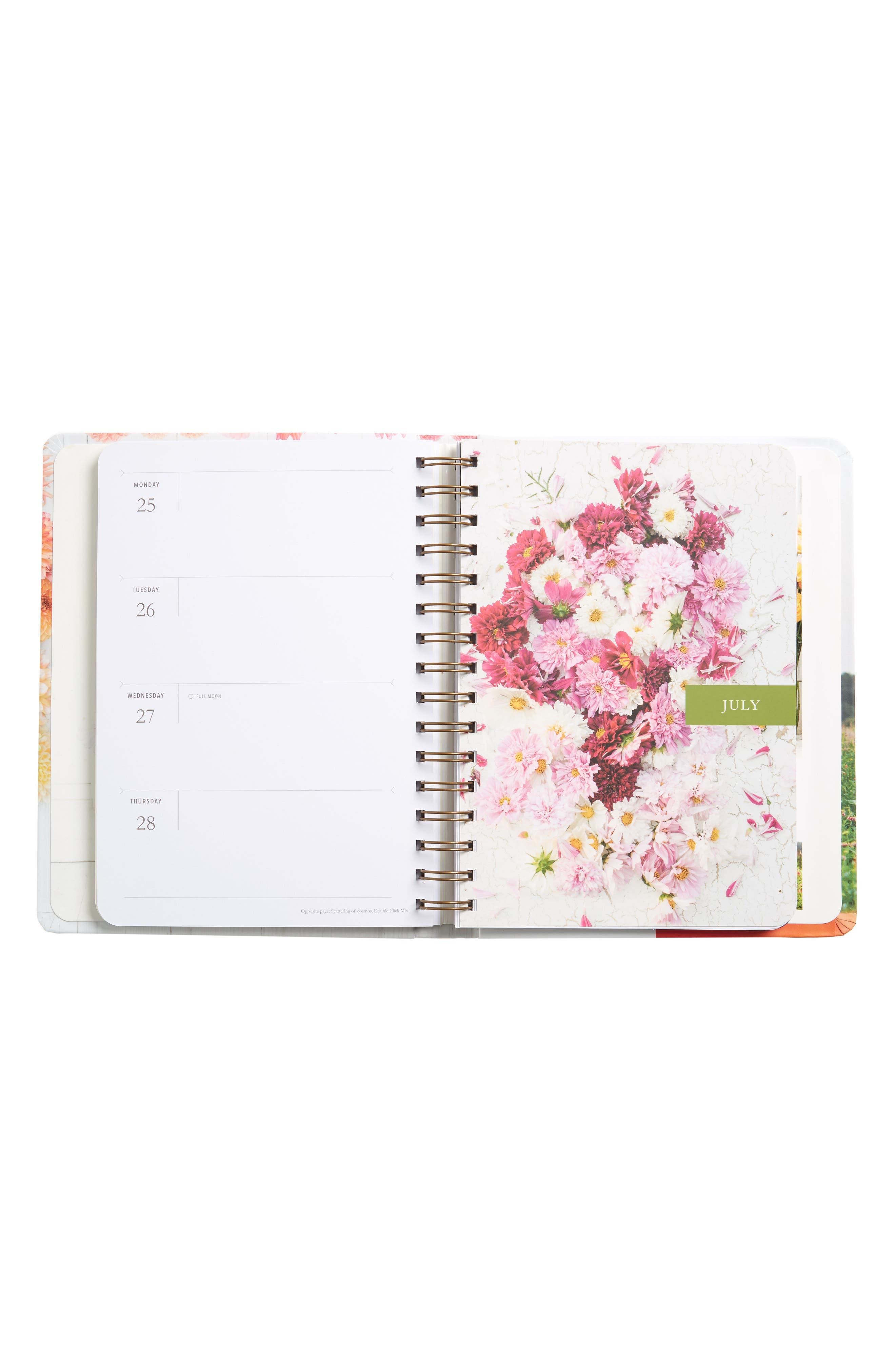 Floret Farms Cut Flower Garden 2018 Daily Planner,                             Alternate thumbnail 2, color,                             Pink