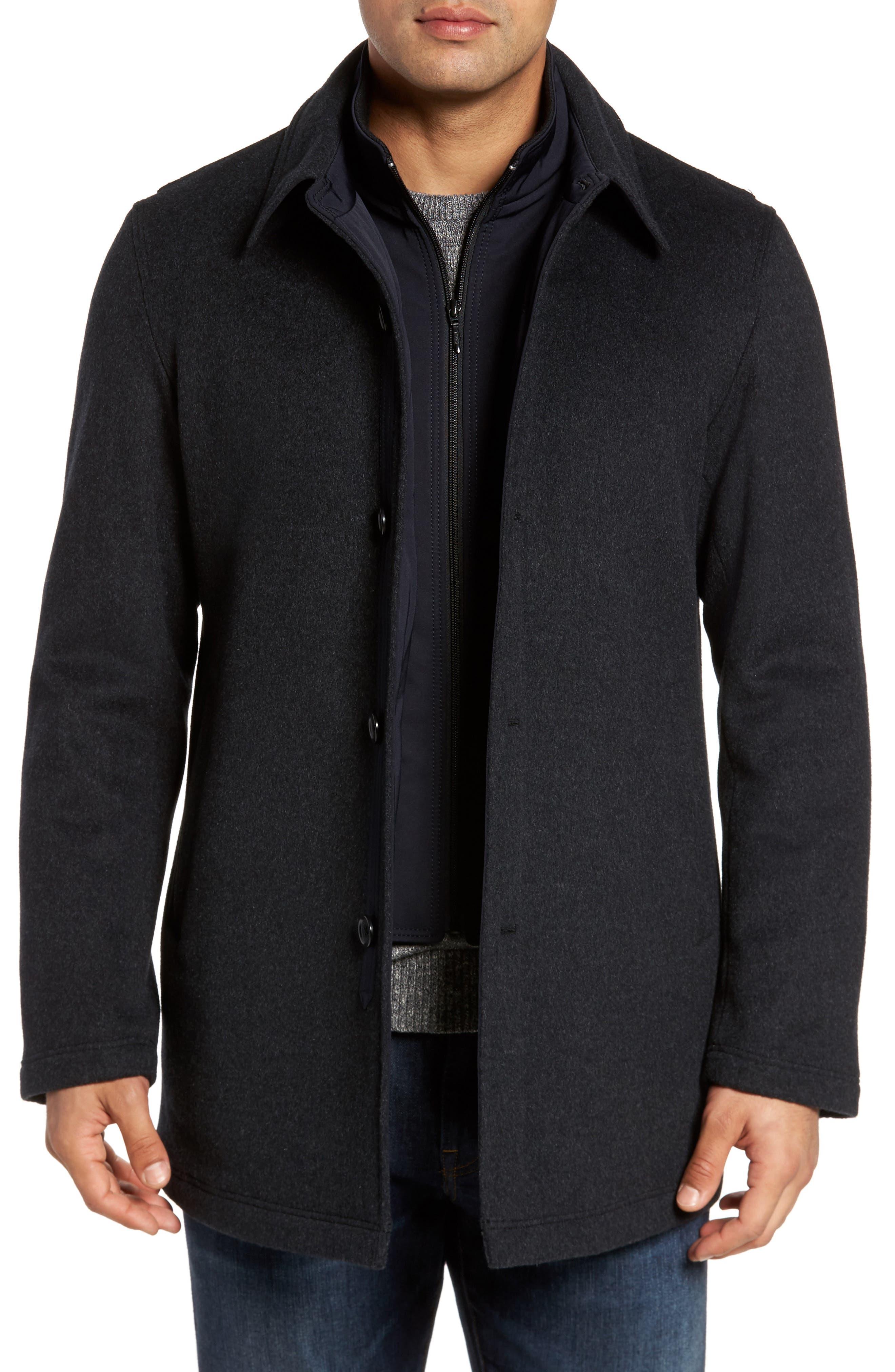 Sanyo Jackson Wool Car Coat