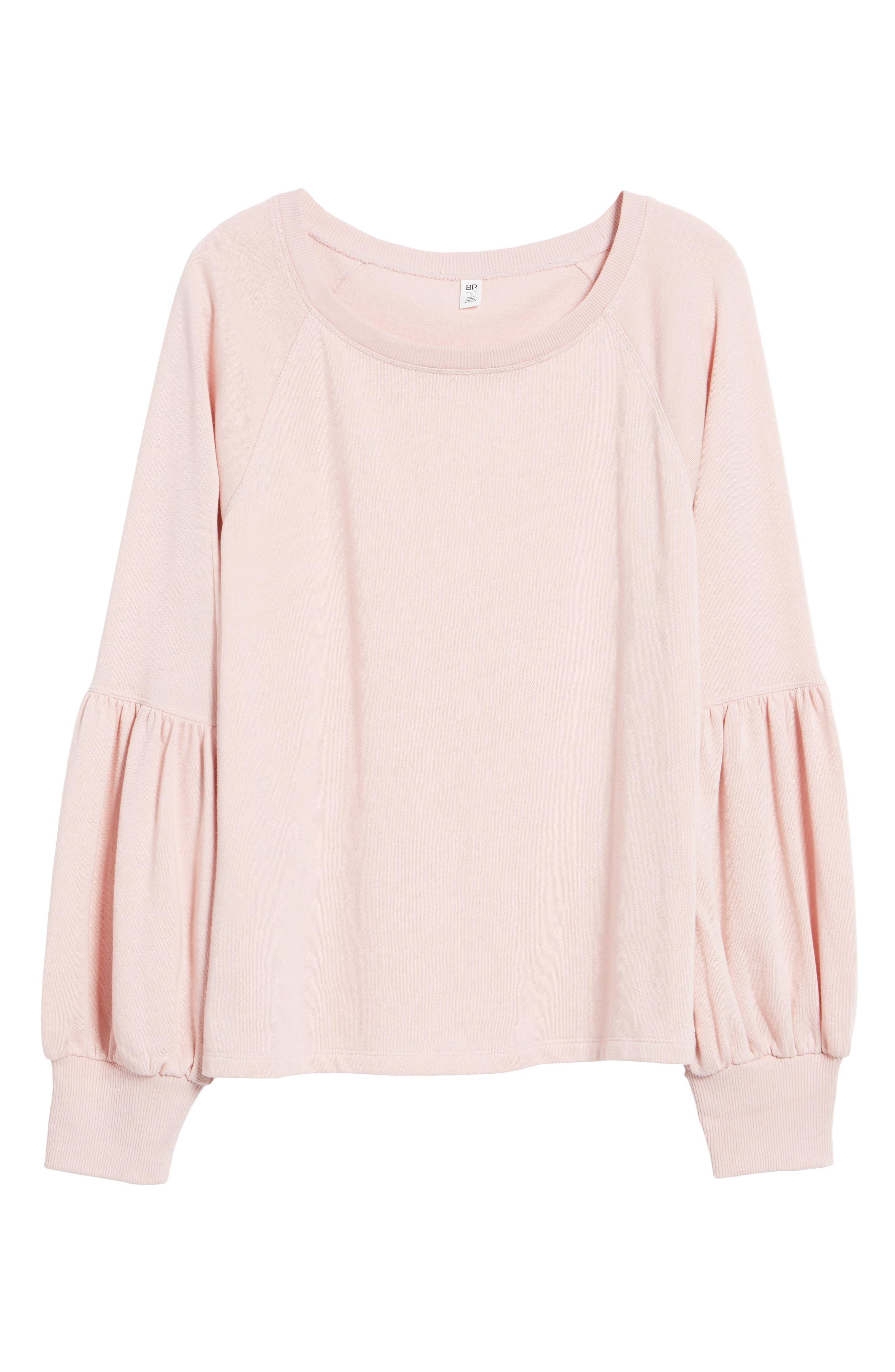 Alternate Image 6  - BP. Blouson Sleeve Sweatshirt