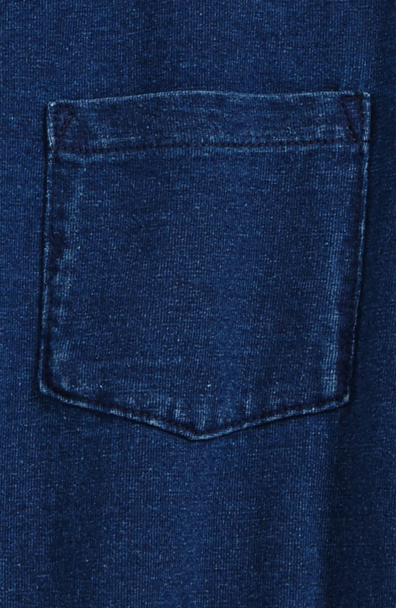 AG Pigment T-Shirt,                             Alternate thumbnail 2, color,                             Slate Indigo