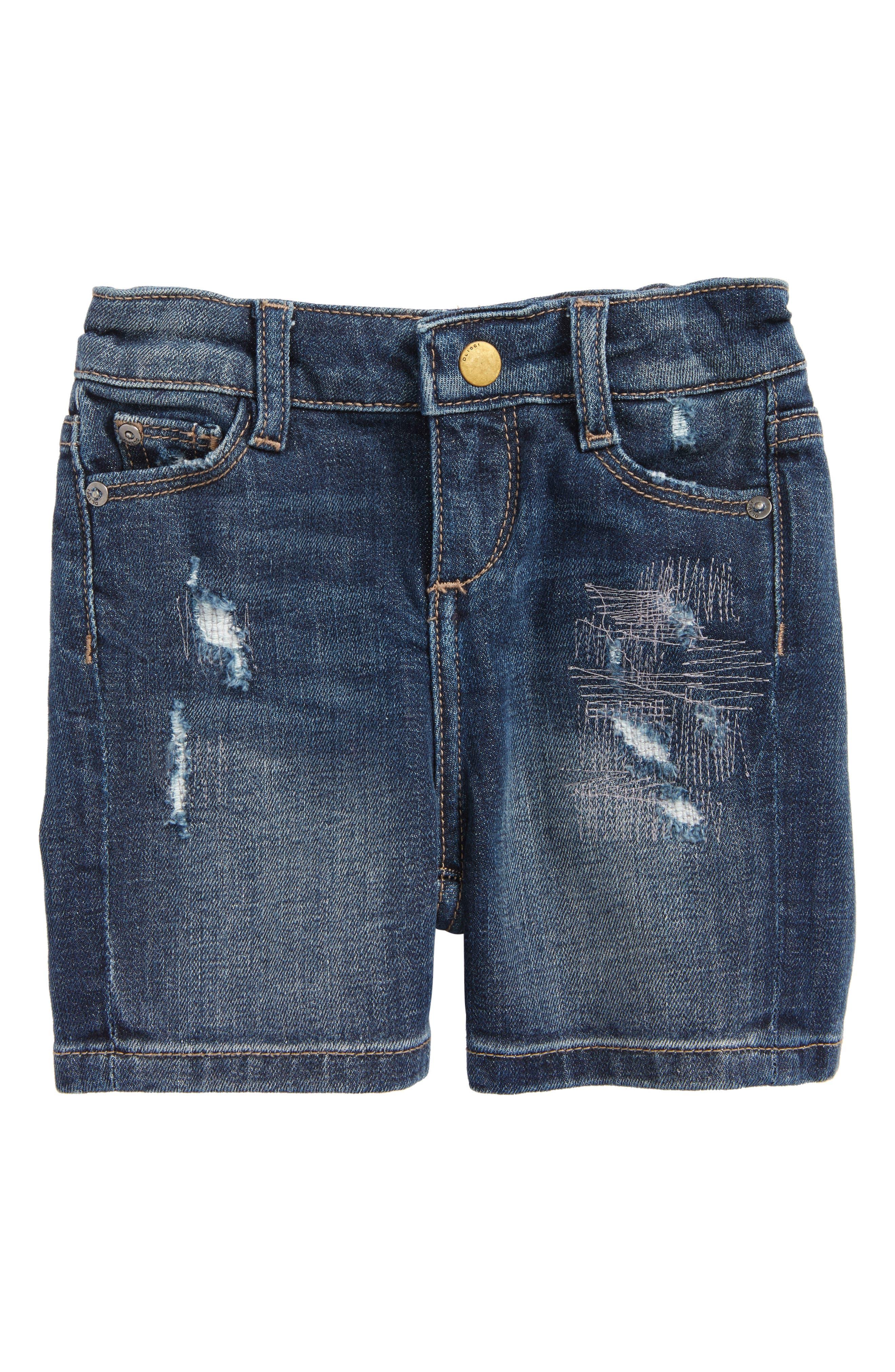 Kaley Denim Shorts,                         Main,                         color, Liberty