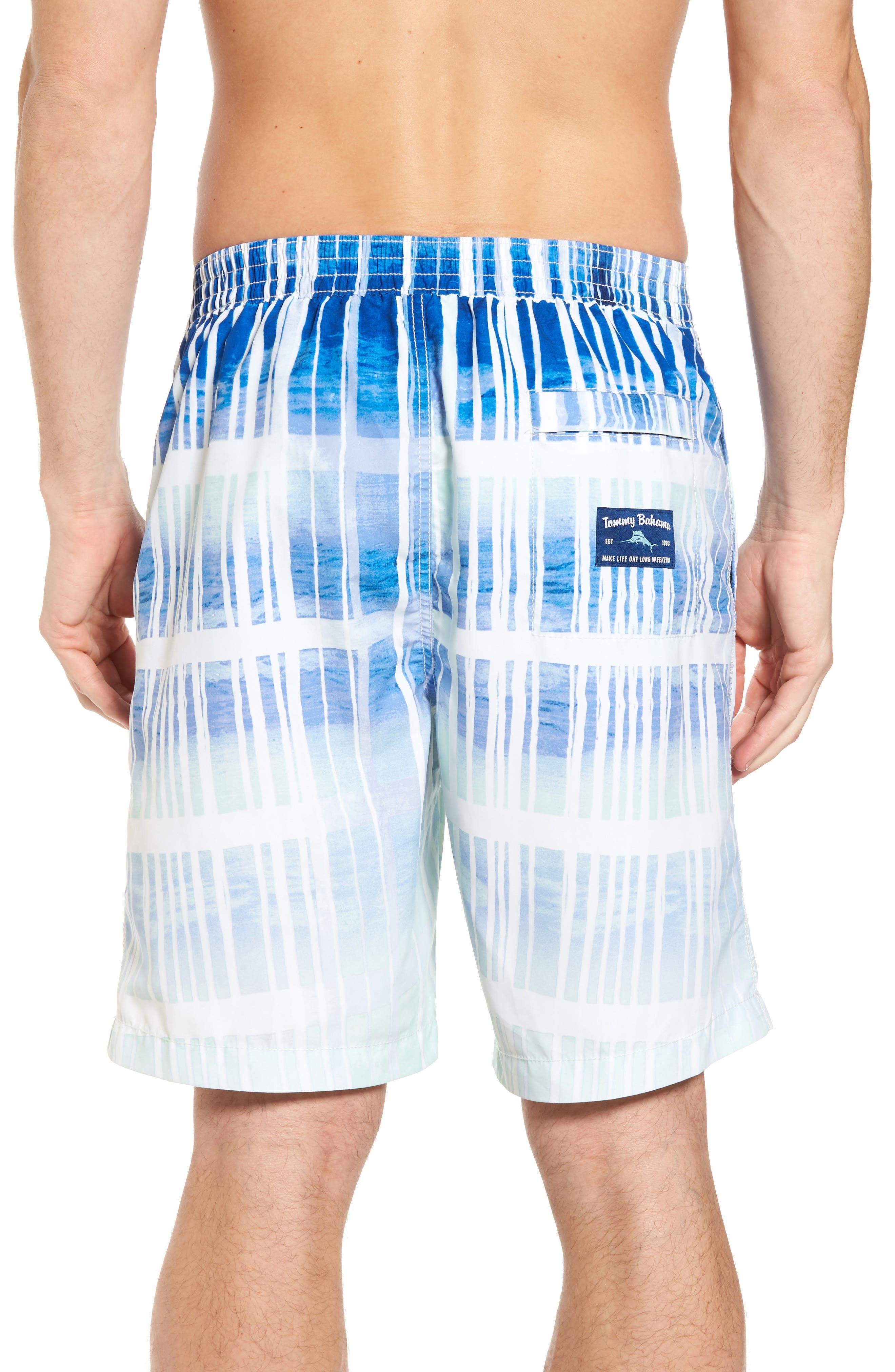 Baja Okeechobee Board Shorts,                             Alternate thumbnail 2, color,                             Santorini Blue