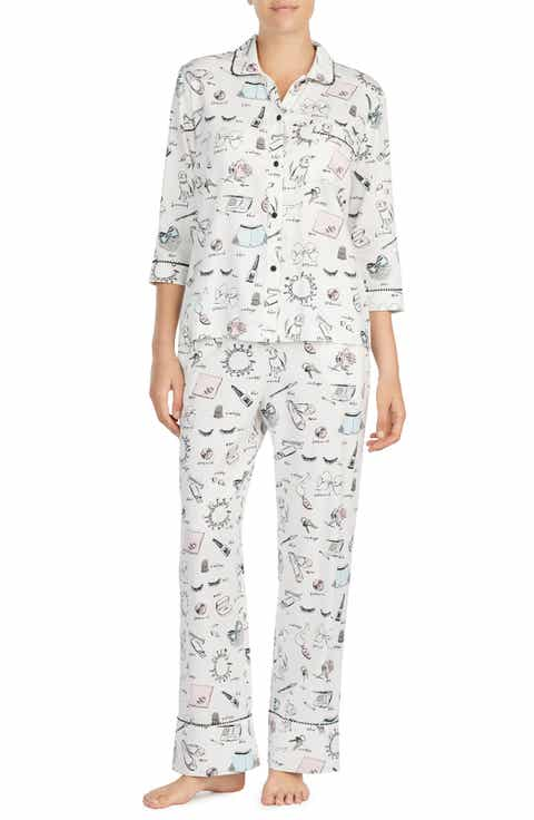 kate spade new york print pajamas