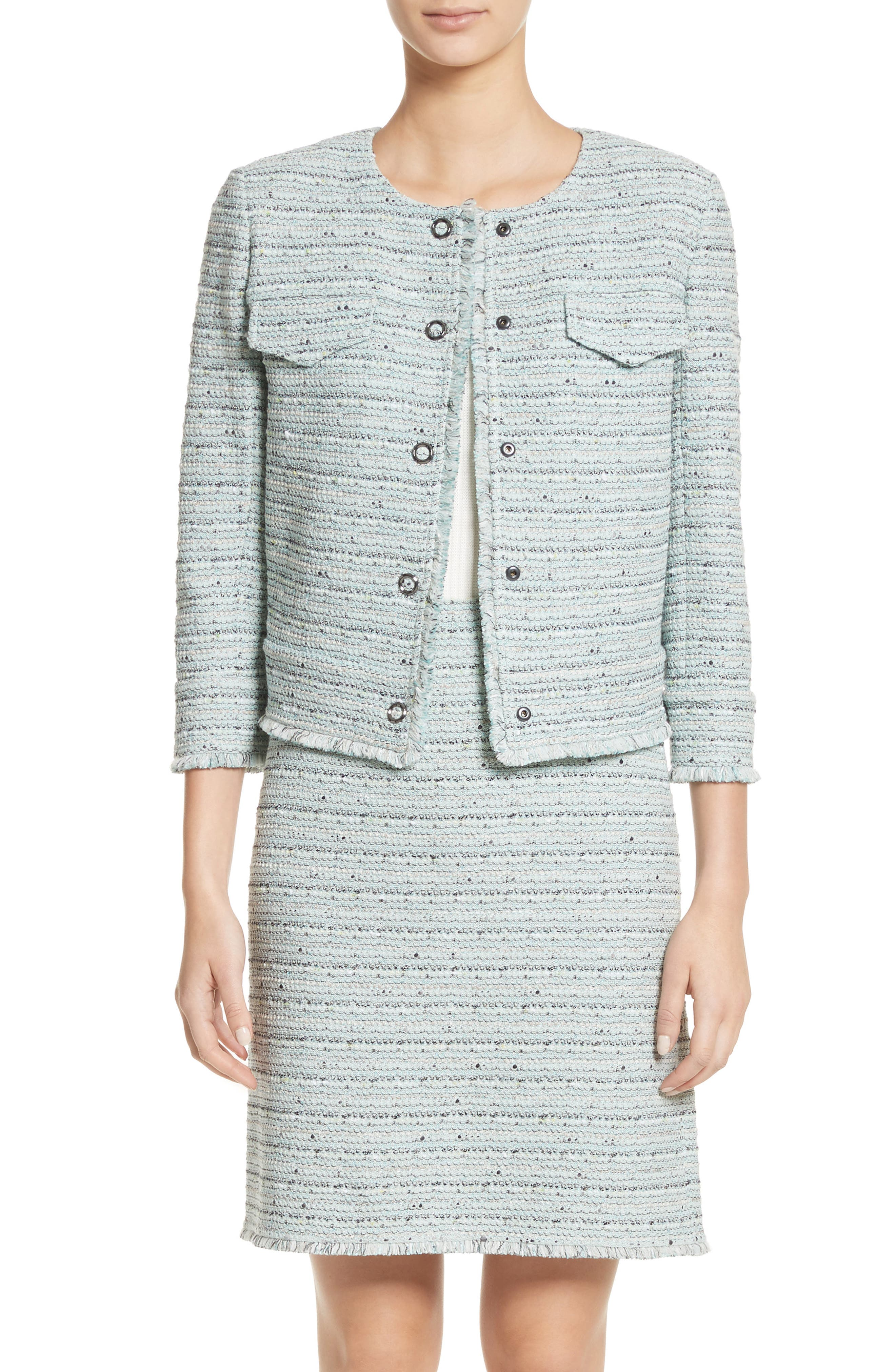 Main Image - St. John Collection Riana Tweed Jacket