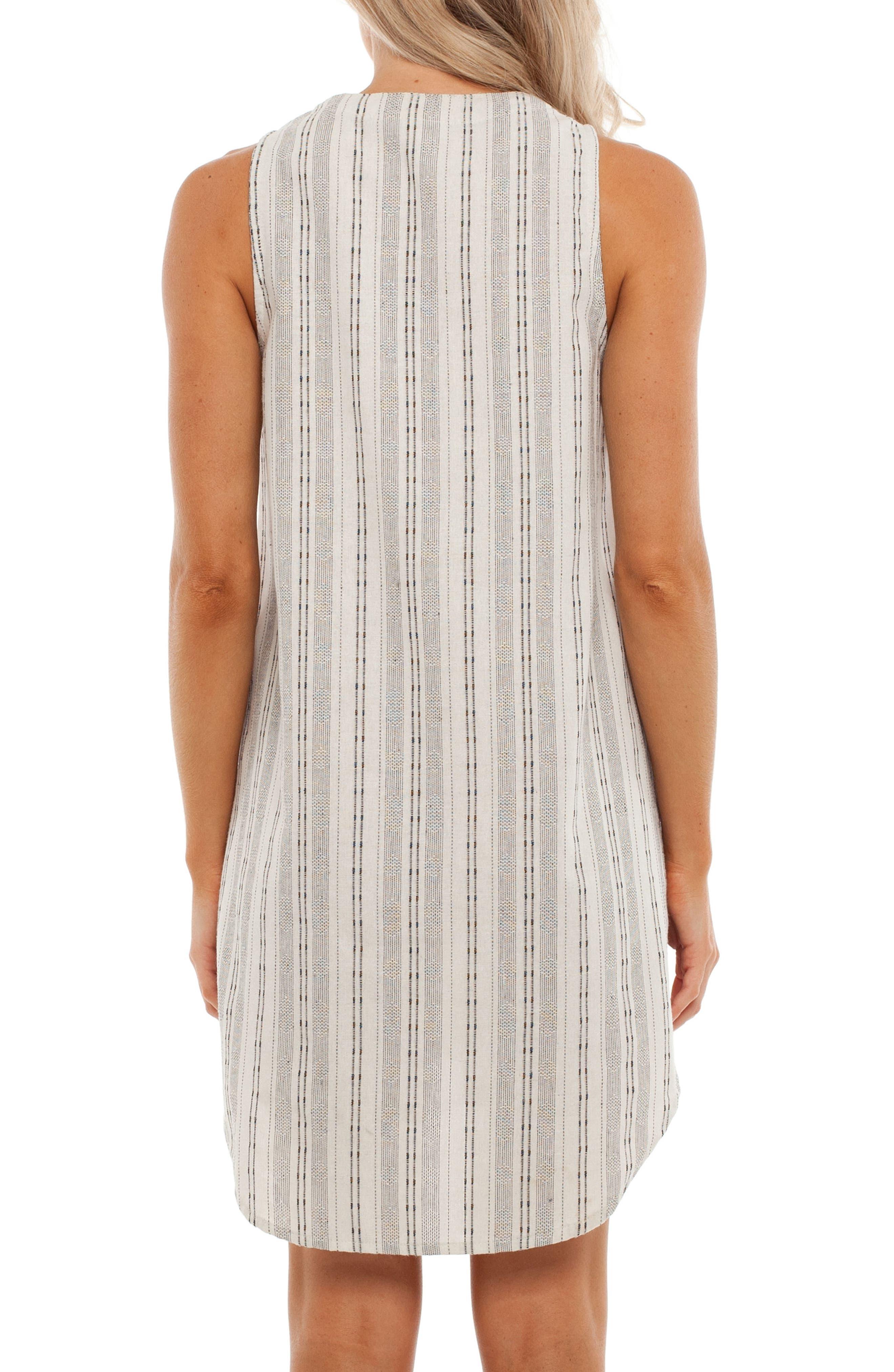 Panama Cover-Up Dress,                             Alternate thumbnail 2, color,                             White