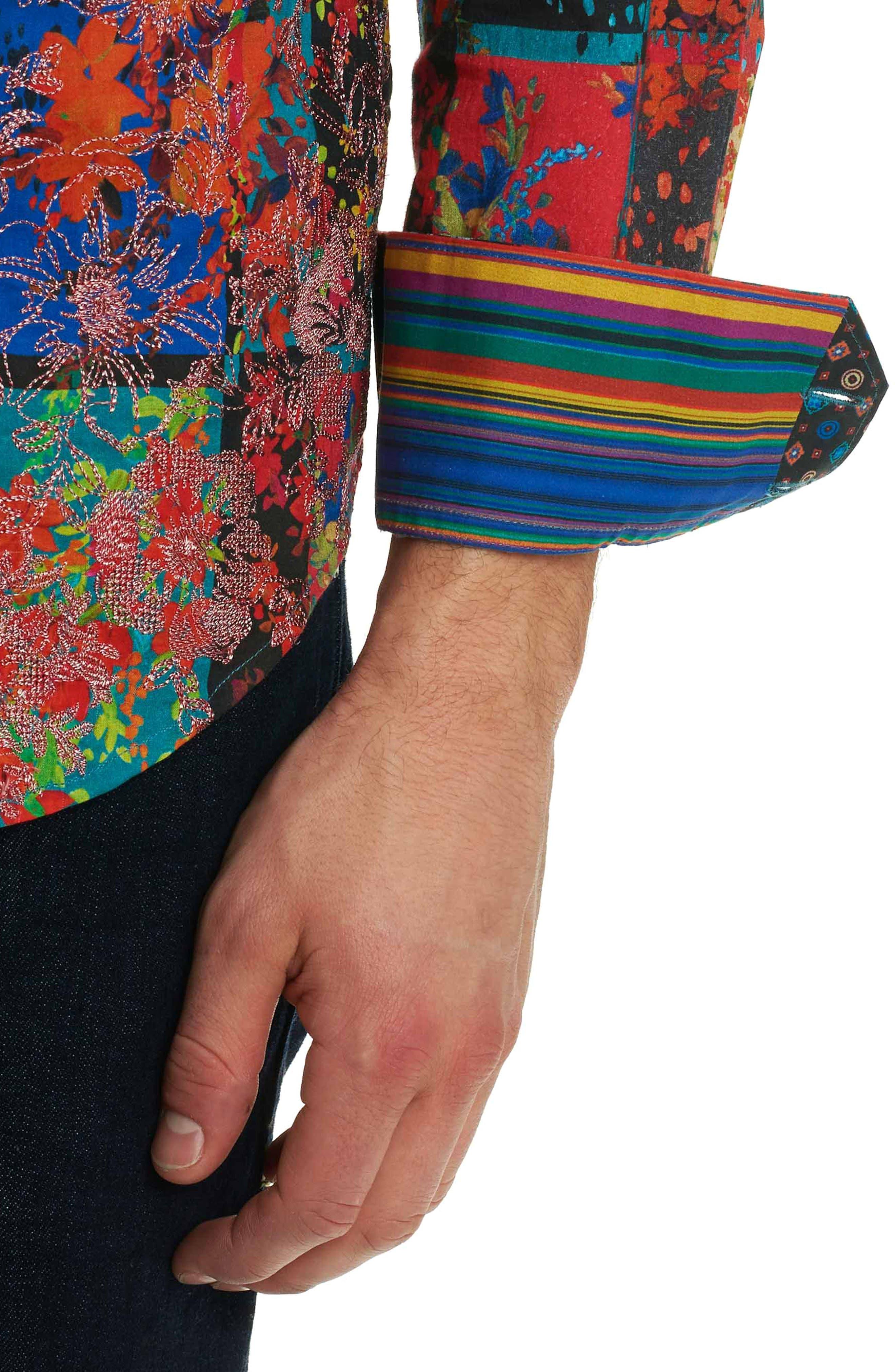 Alternate Image 6  - Robert Graham Shiraz Classic Fit Sport Shirt