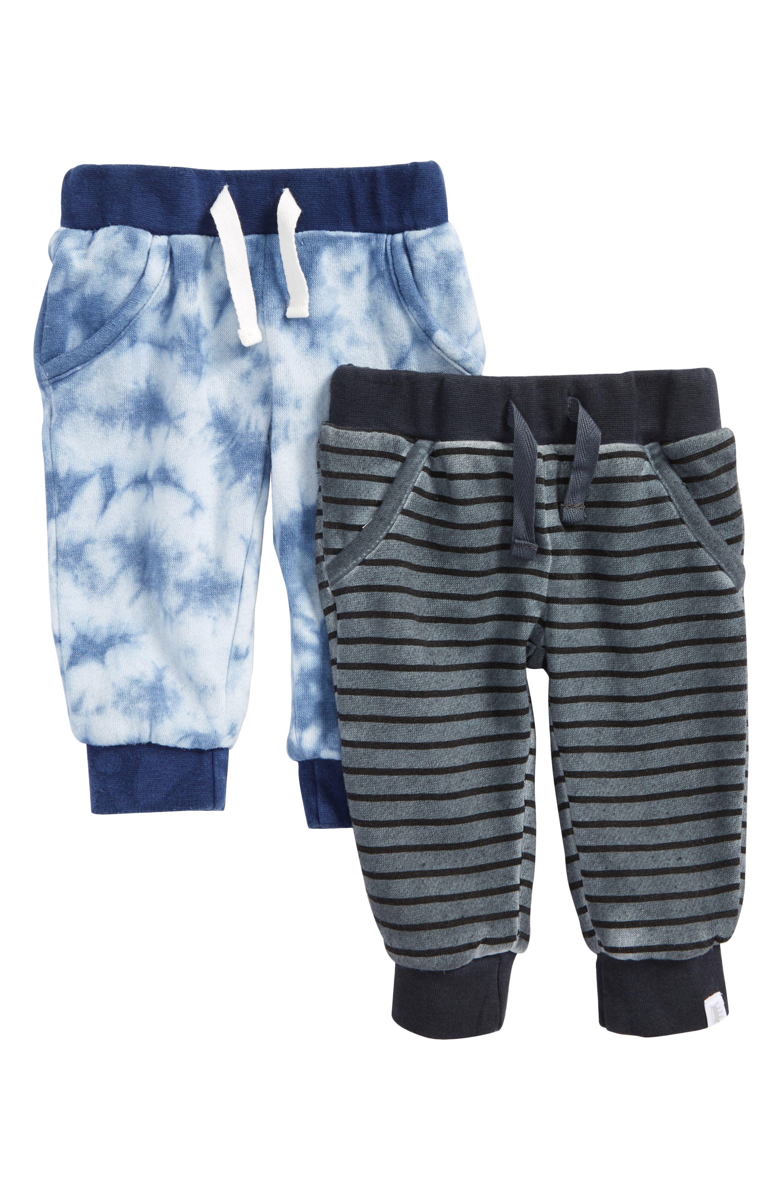 Rosie Pope 2-Pack Fleece Pants (Baby Boys)