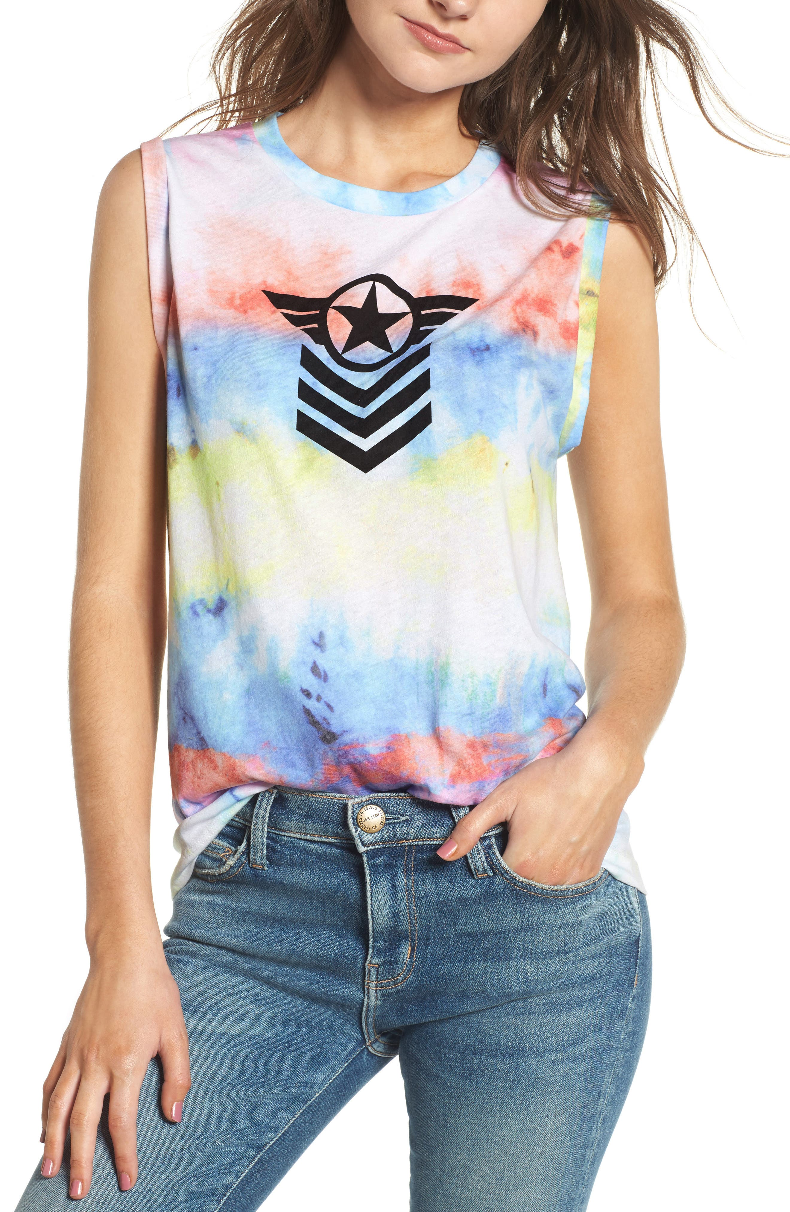 Alternate Image 1 Selected - Wildfox Commando Muscle Tank