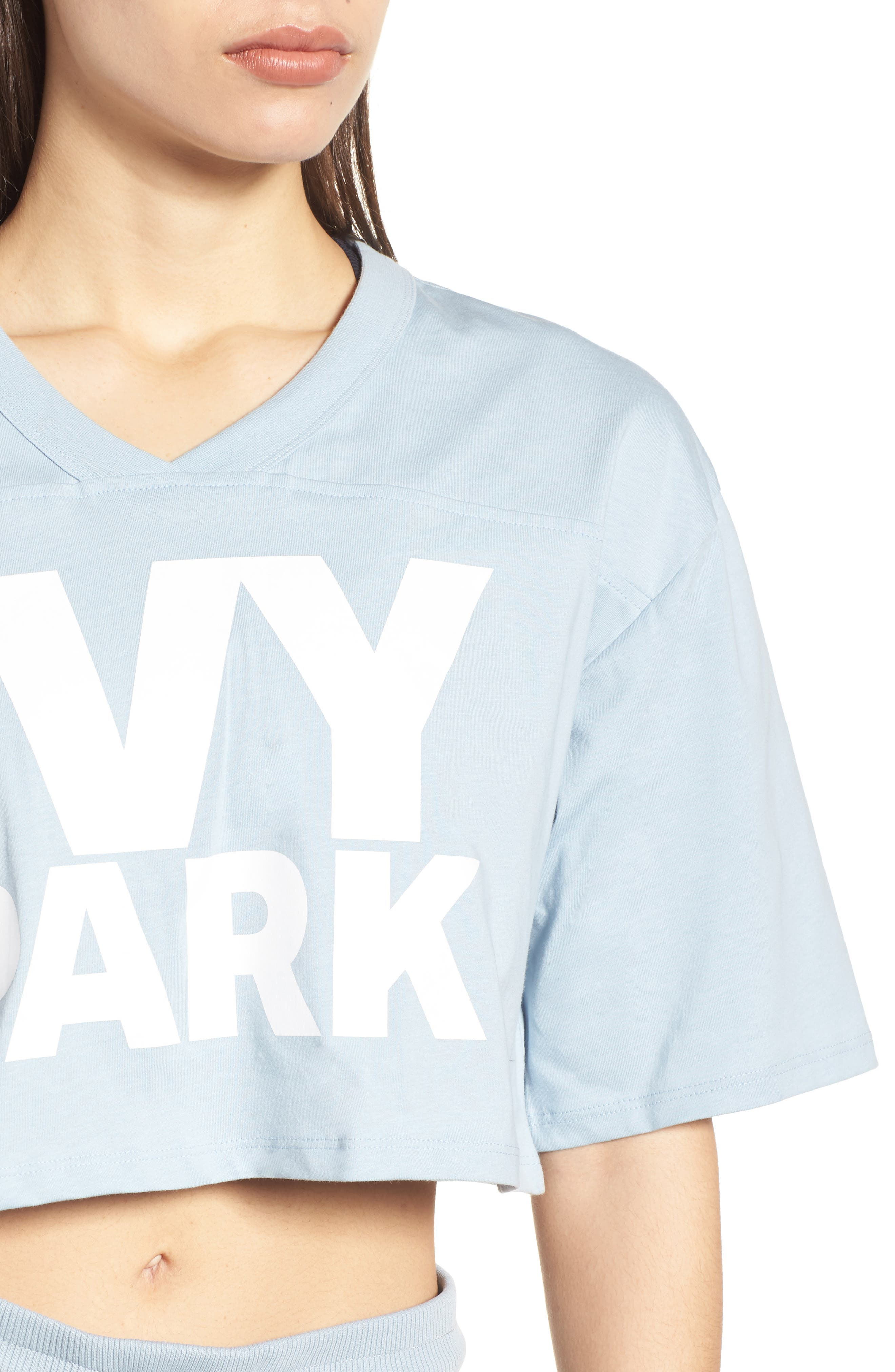 Alternate Image 4  - IVY PARK® Logo Crop Tee